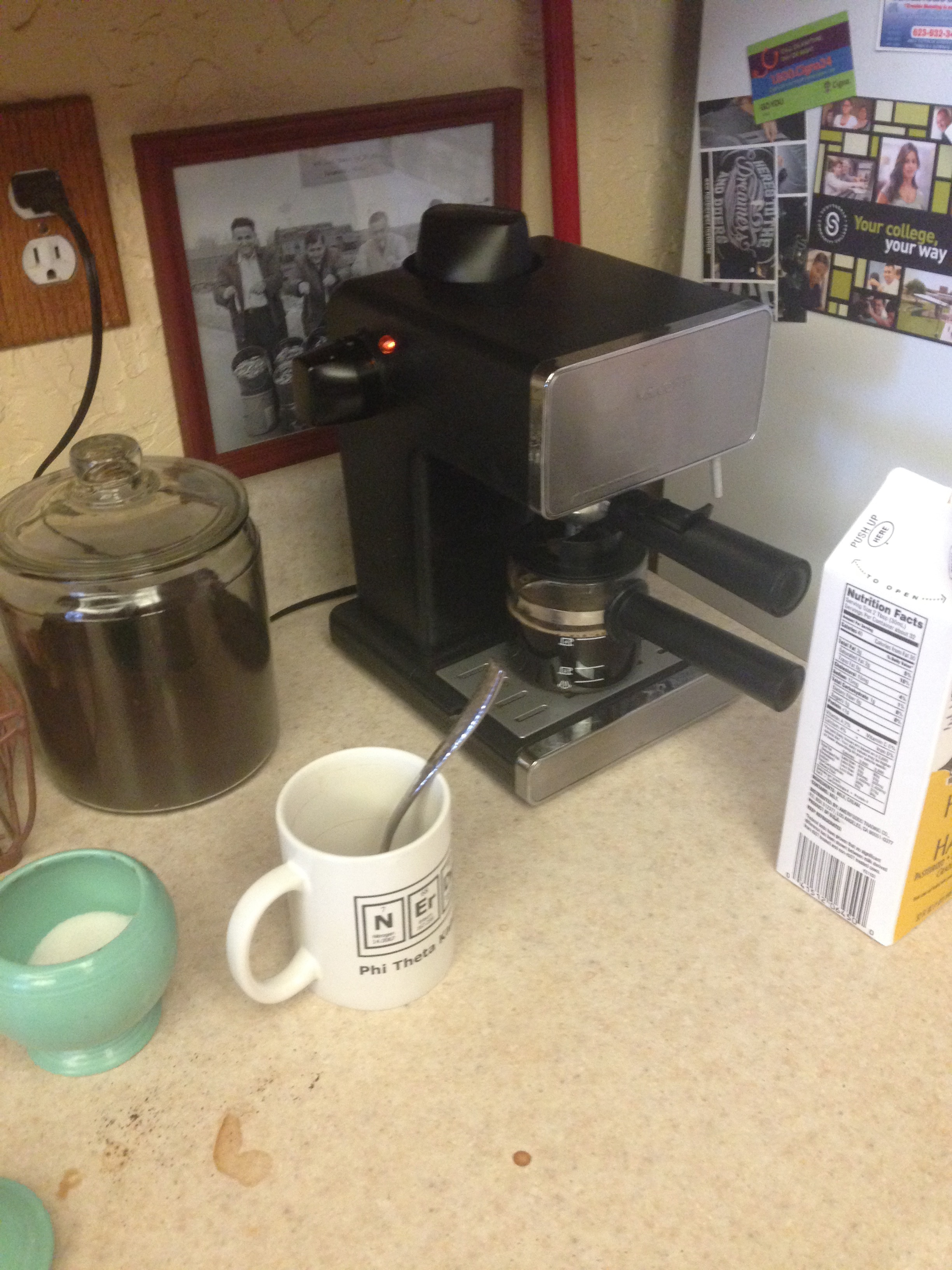 sometimes waiting for the coffee to brew is the hardest part of the day.