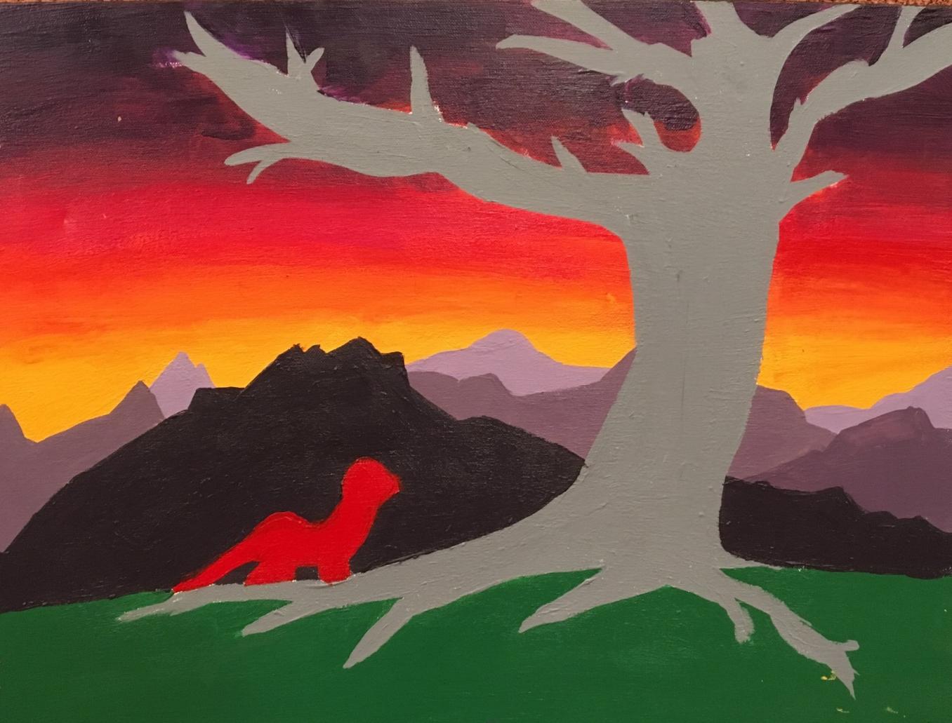 Narrative painting | 8th grade