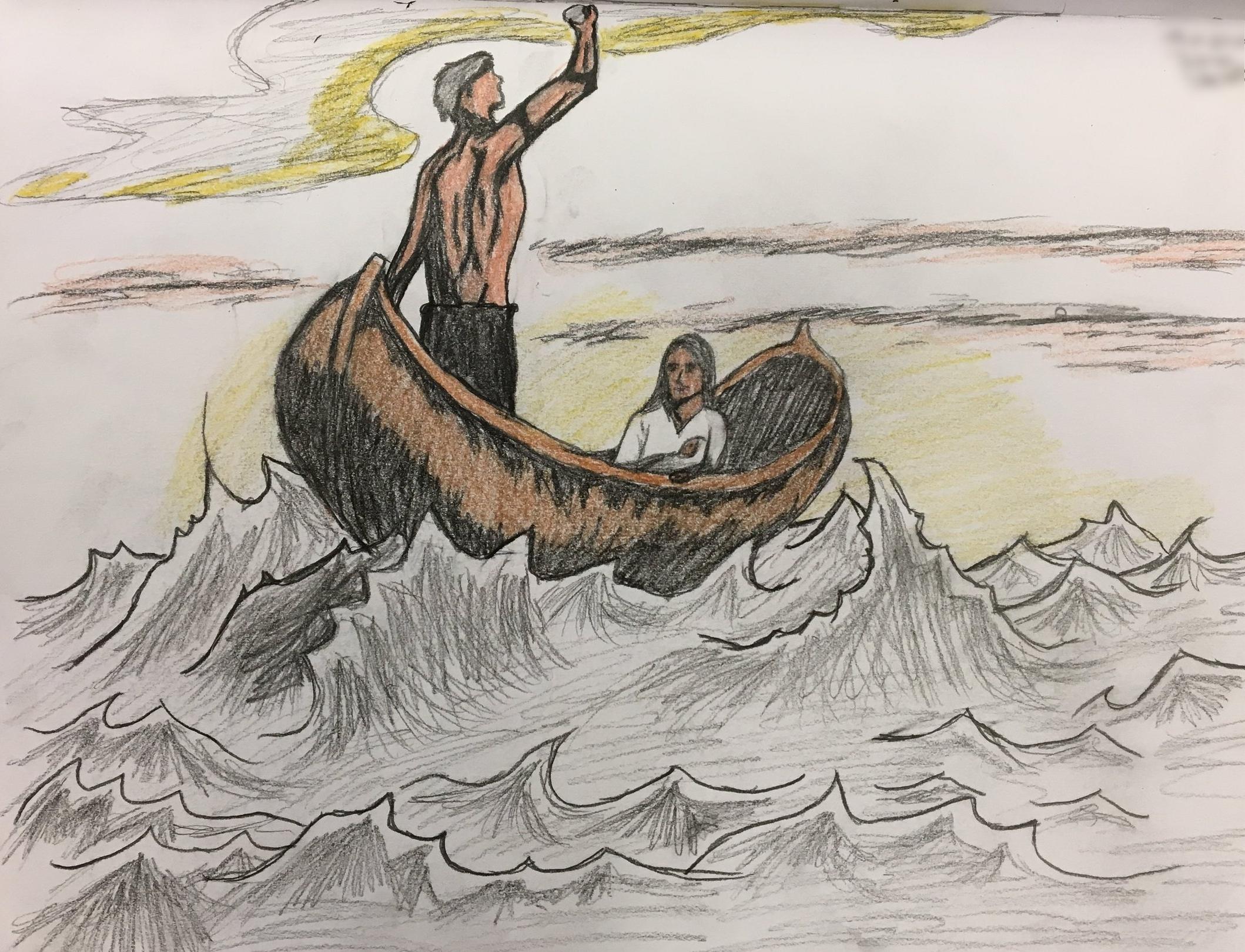 Literary illustration | 10th grade