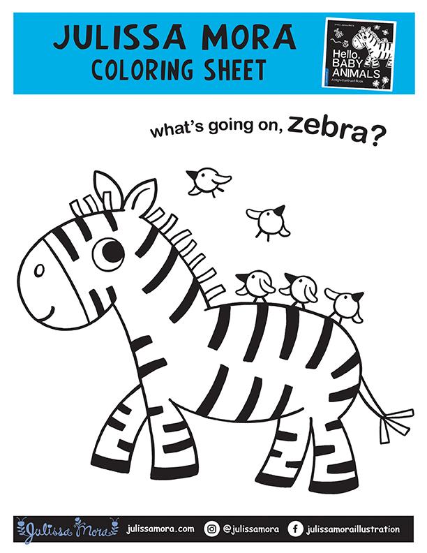 What's going on, zebra?