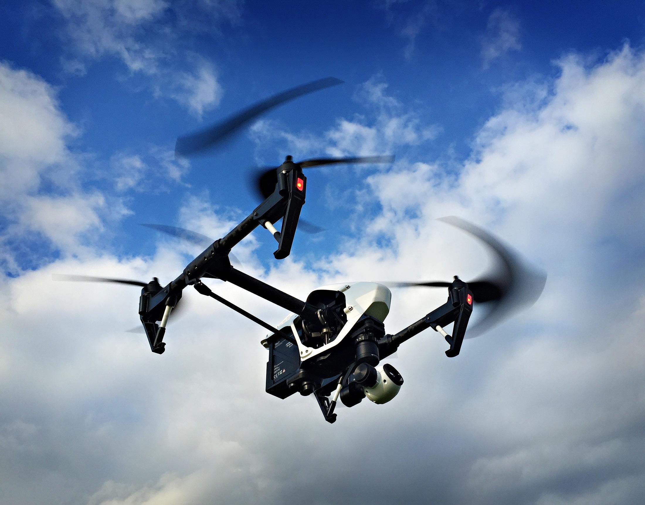 Our DJI Inspire 1 Quadcopter