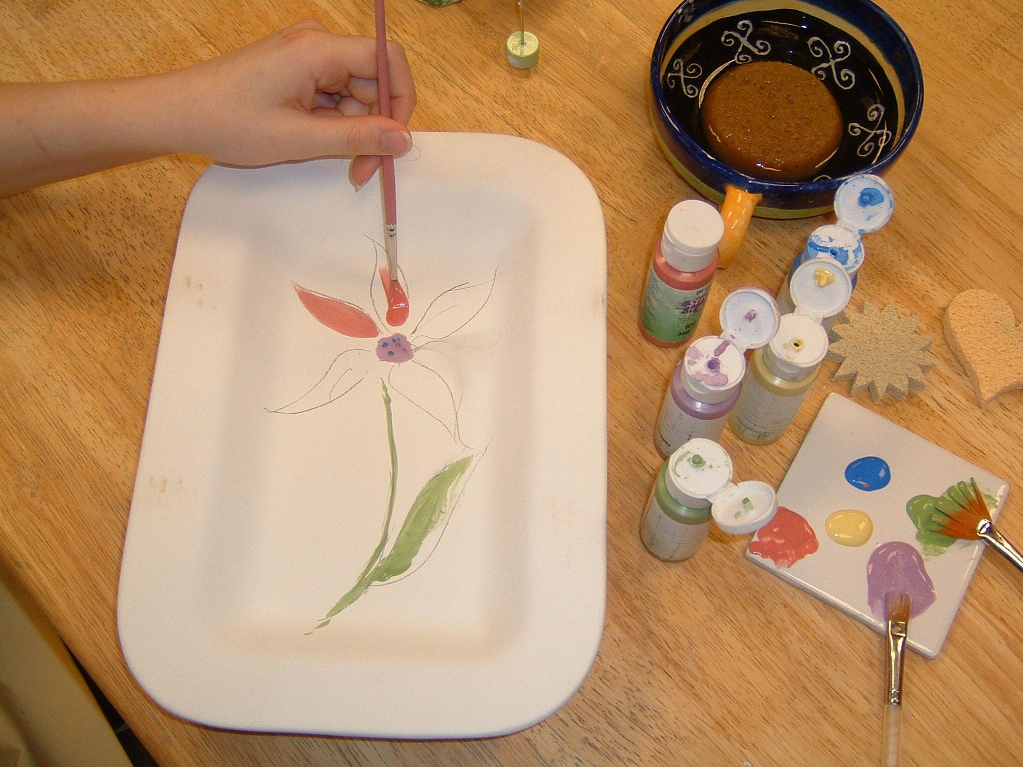 3. Paint away!