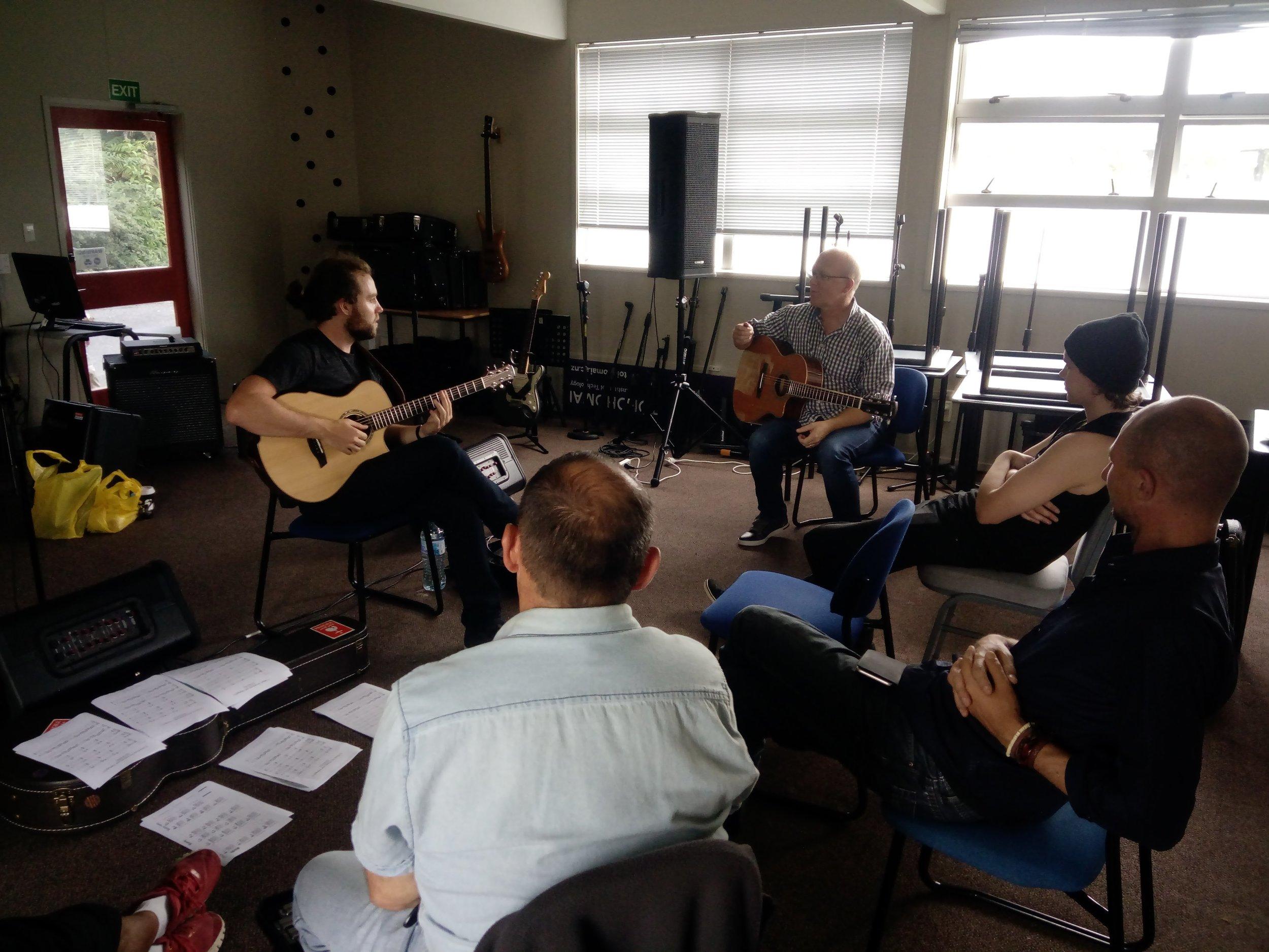 Guitar Workshop Rotorua!