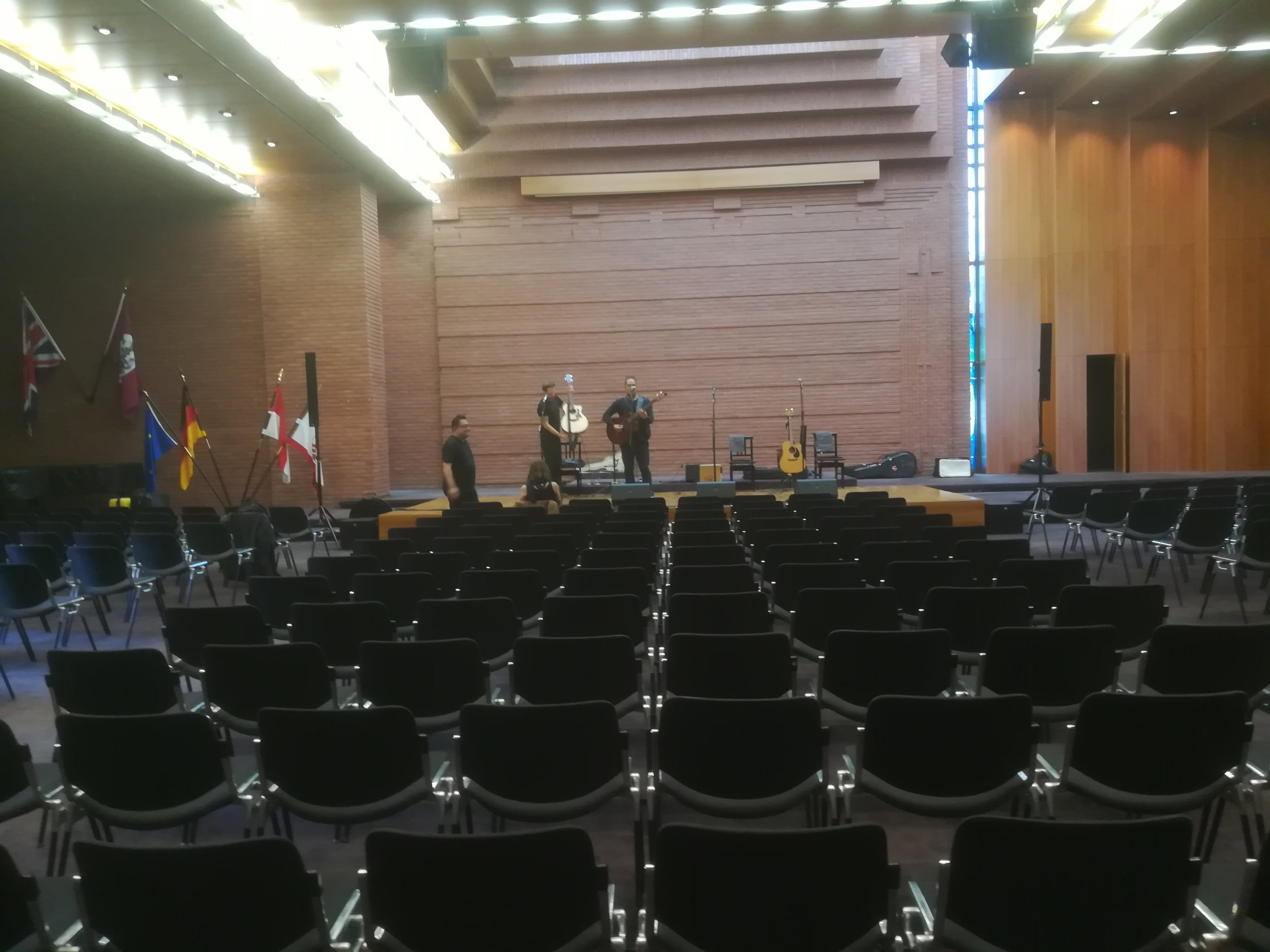 The Venue with the Modern Maori Quartet.