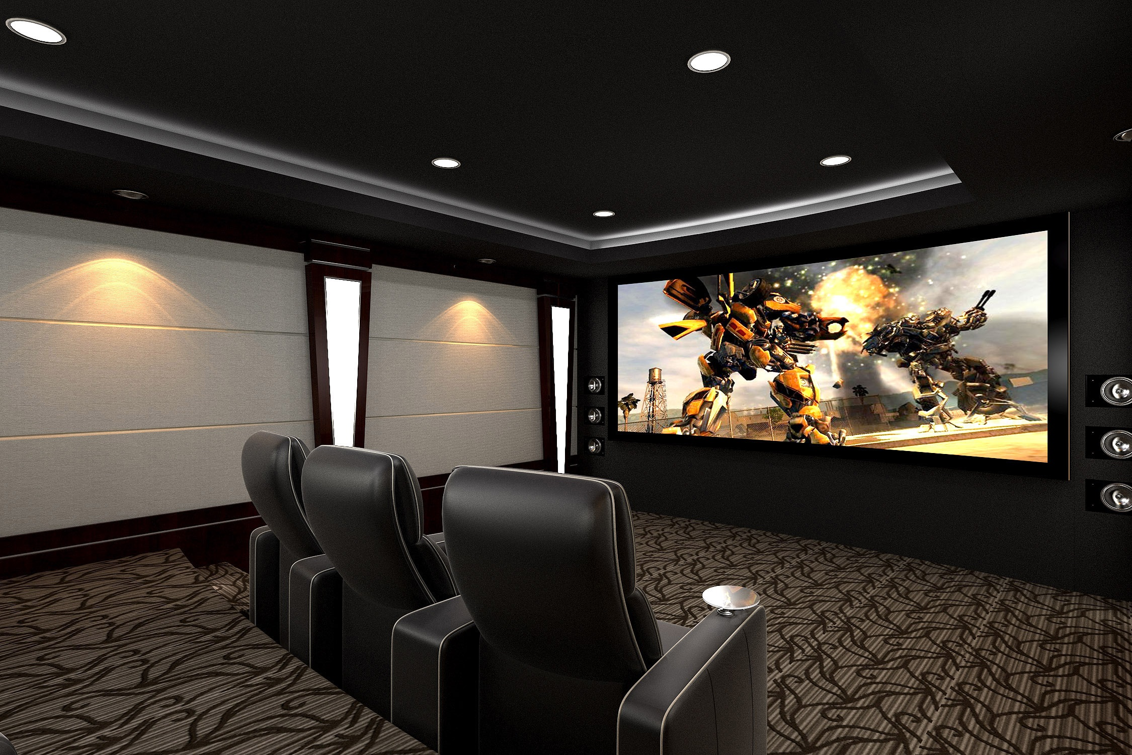 Custom Home Theaters Initial Post
