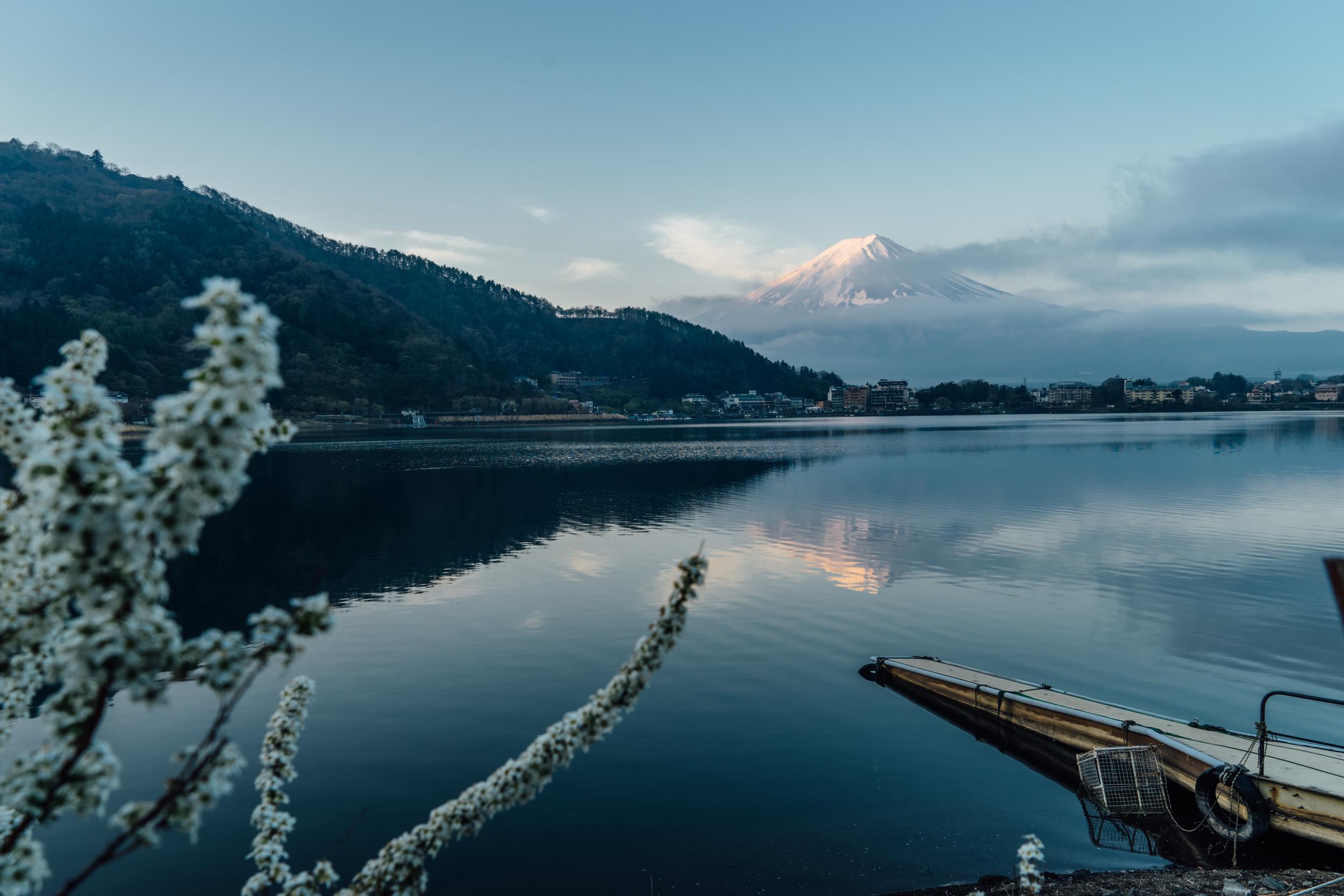 Mt. Fuji from Kawaguchiko