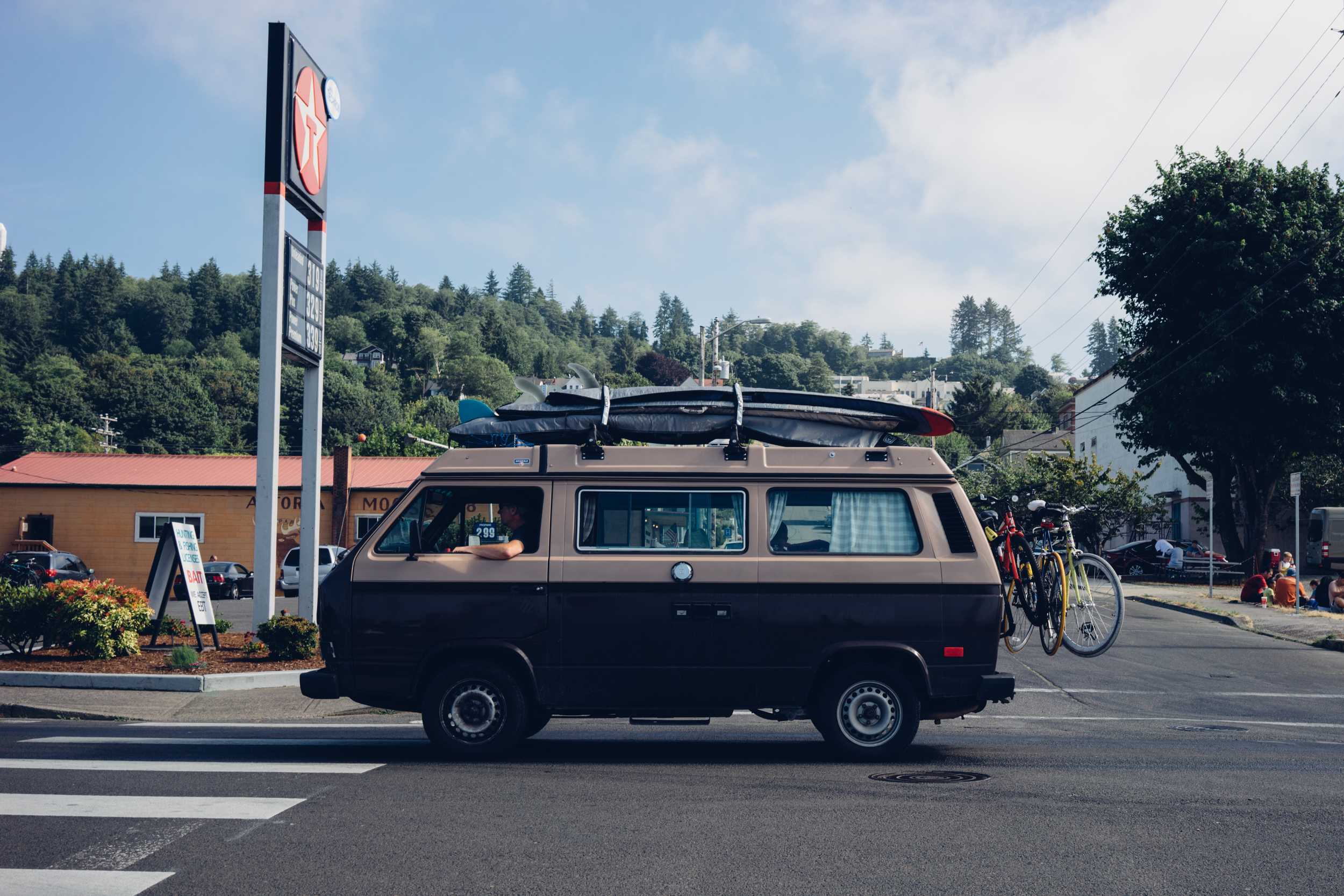 If you rank the US states by the number of Volkswagen Bus per capita, Oregon would be at the top of the list.