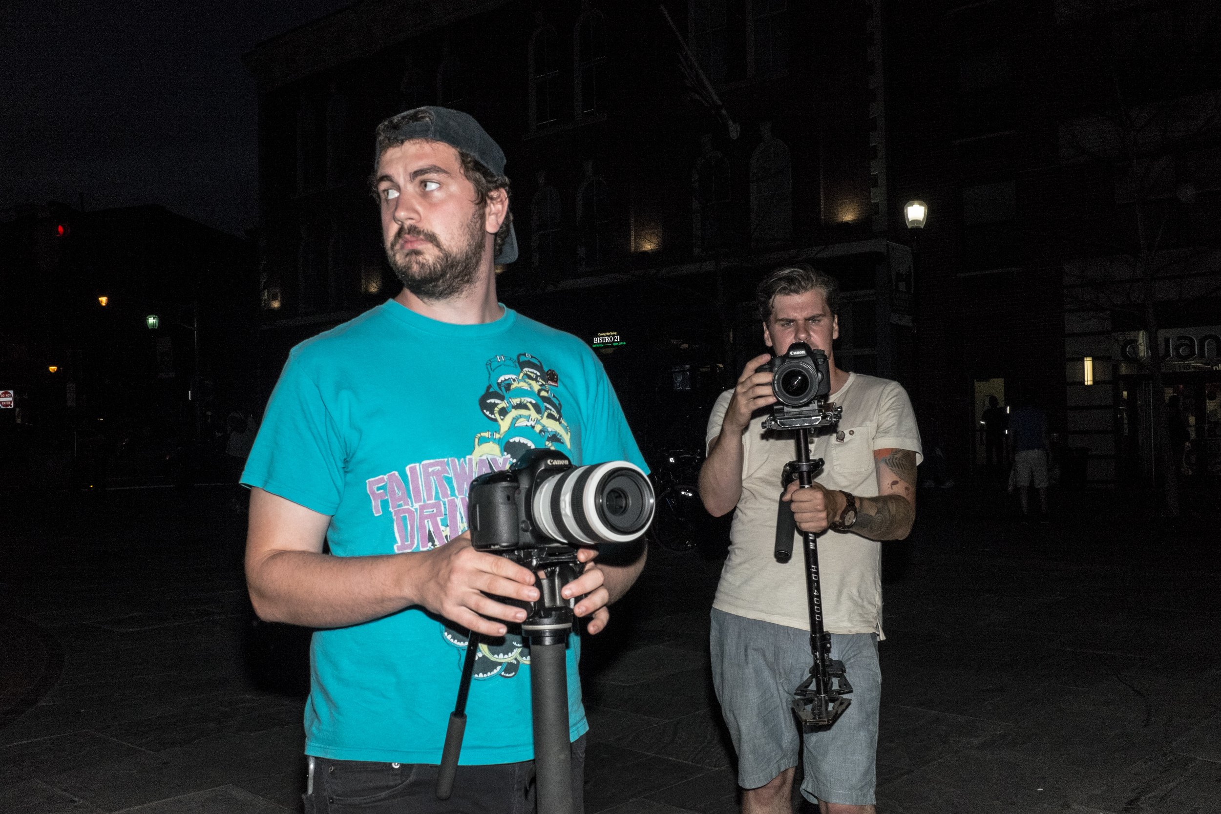 Videographers Kyle & Dave