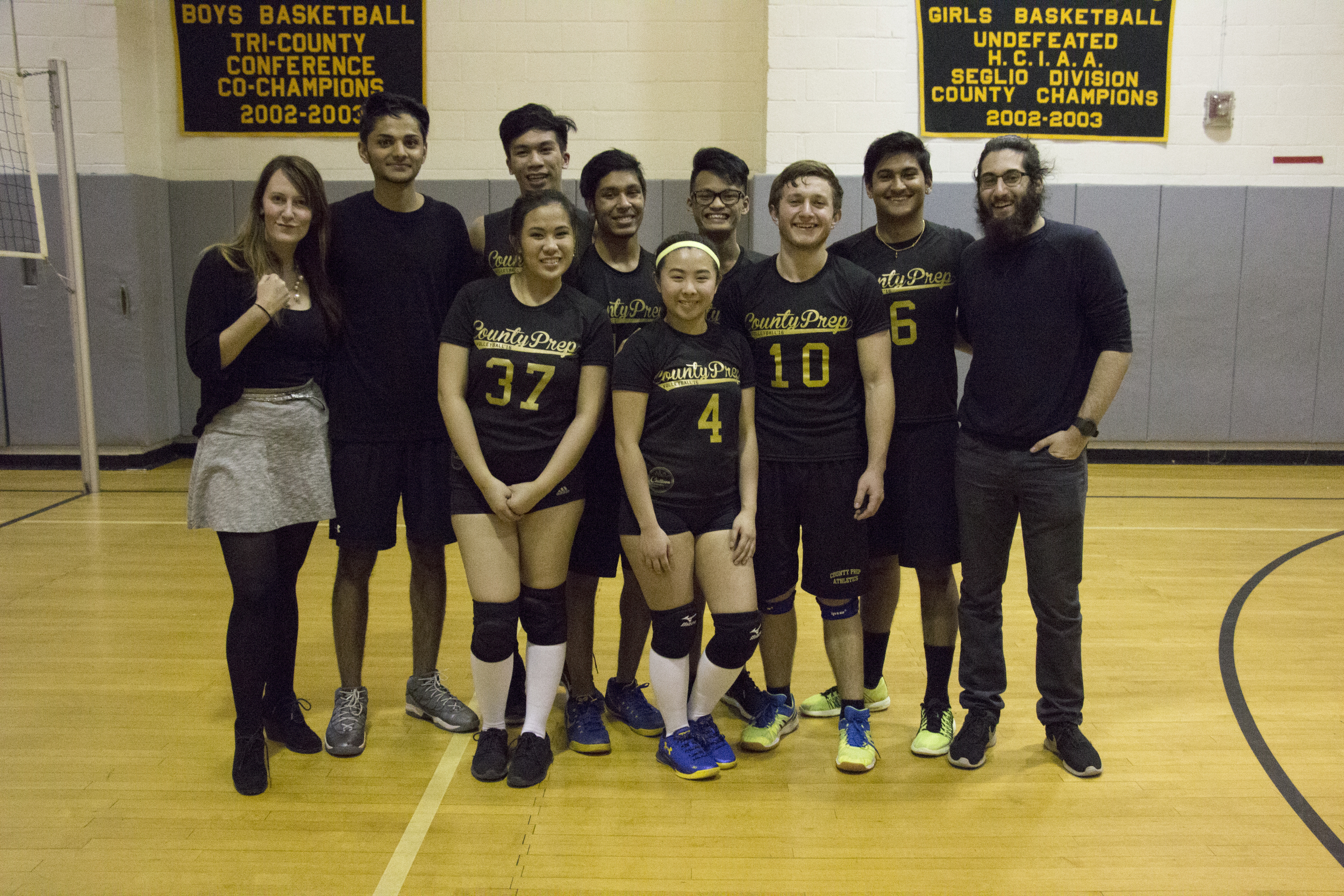 County Prep High School Annual Volleyball Tournament