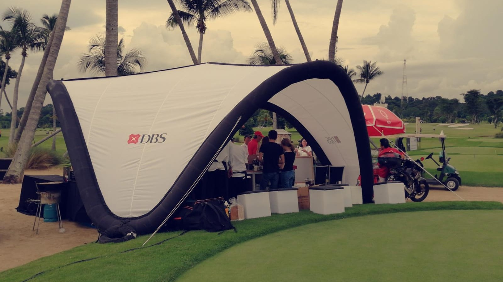 #Branding #Inflatable #Tent