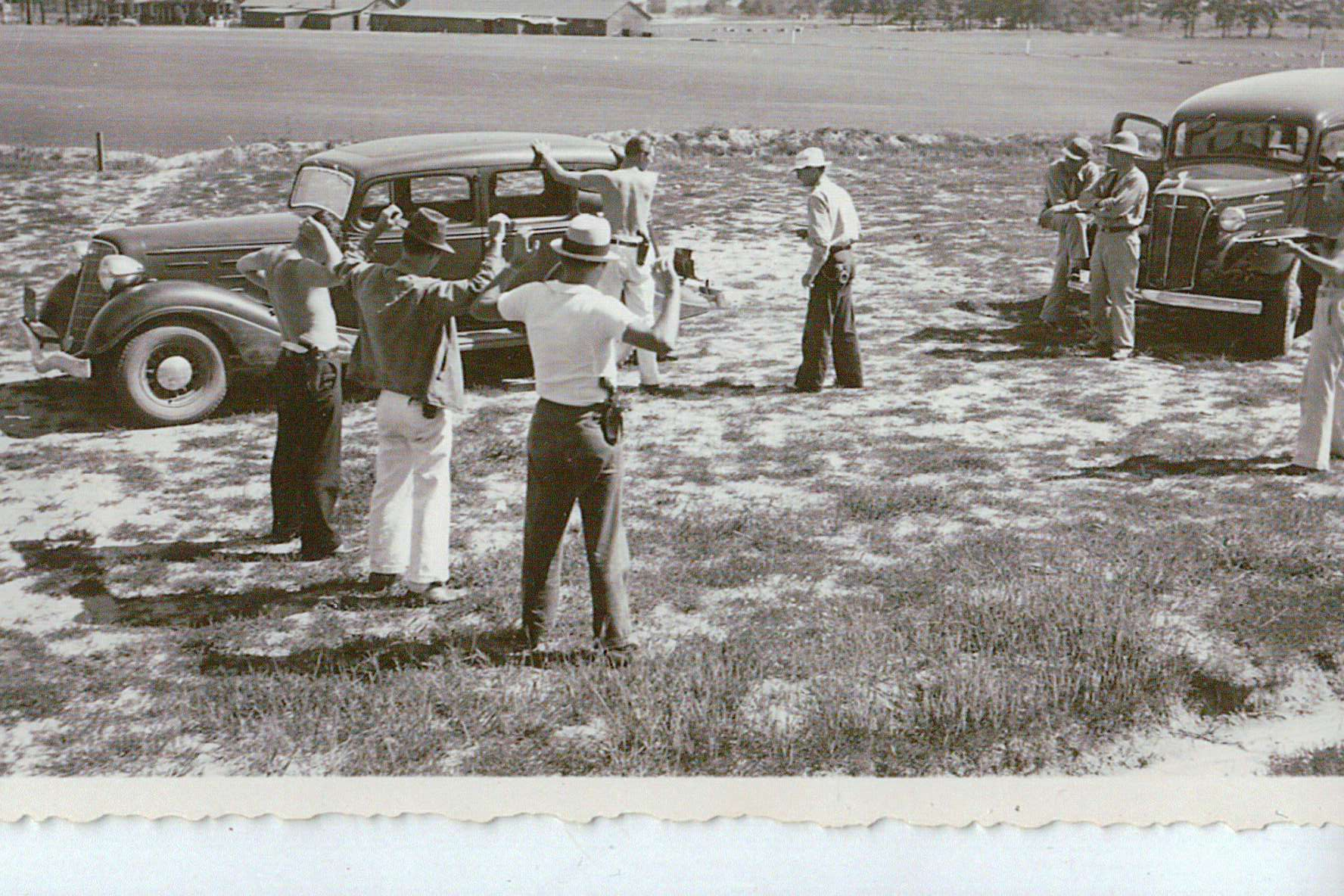 Early 30's FBI Training Photo - From Franklin Memoirs