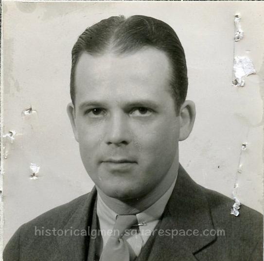 SA S. K. McKee (Samuel K. McKee)  1935 FBI Photo