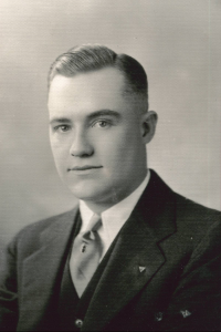 Franklin in 1932 - Courtesy his son