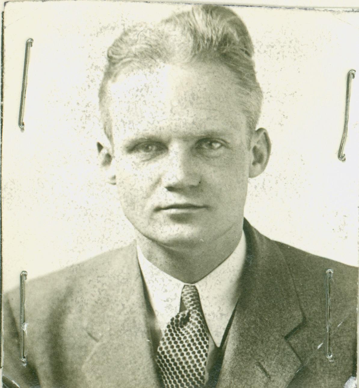 SA Fred T. McIntyre 1934  Courtesy FBI
