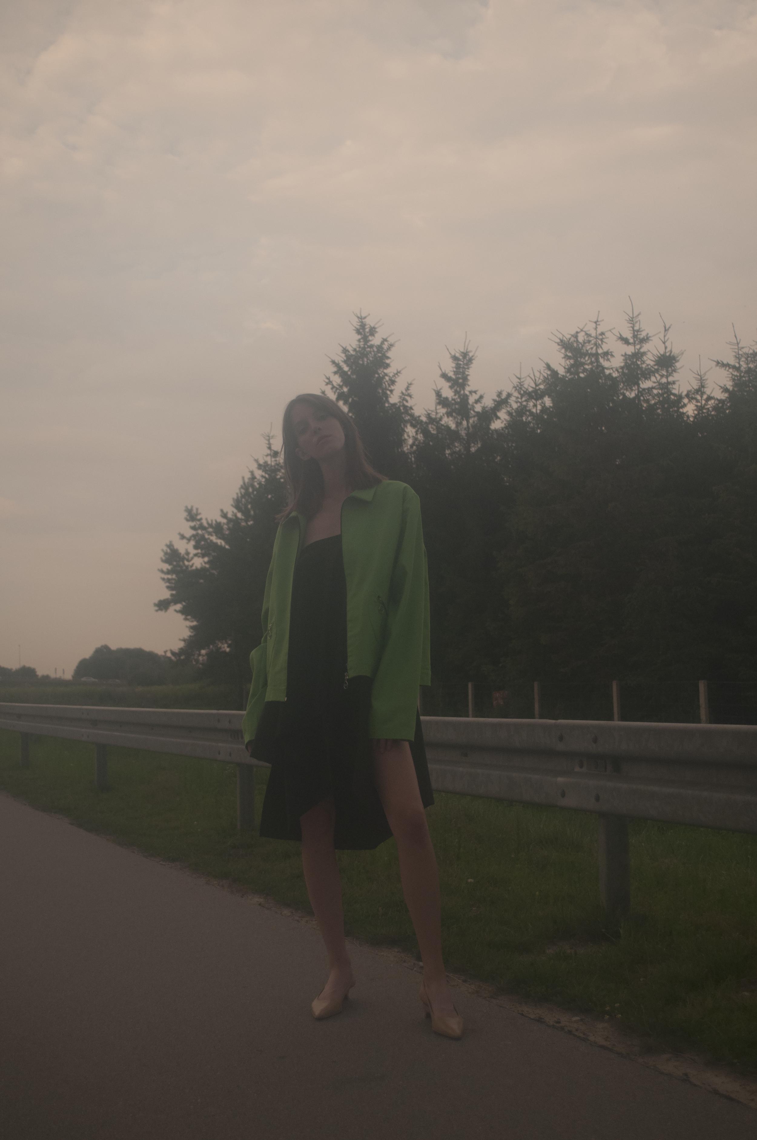 jacket DRAMAT, dress SYLWIA ROCHALA,