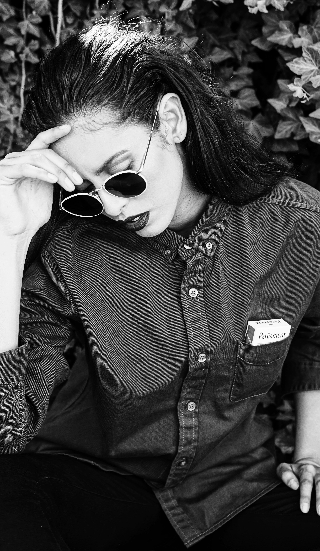 shirt  LIFE AFTER DENIM , sunglasses CRAP EYEWEAR