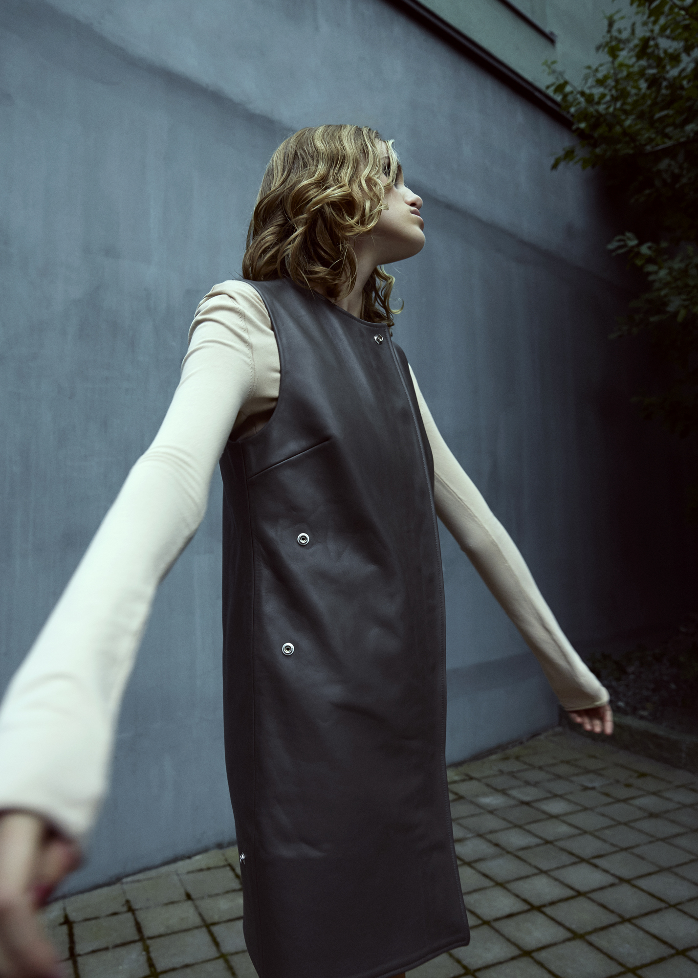 sweater + dress  ACNE STUDIOS