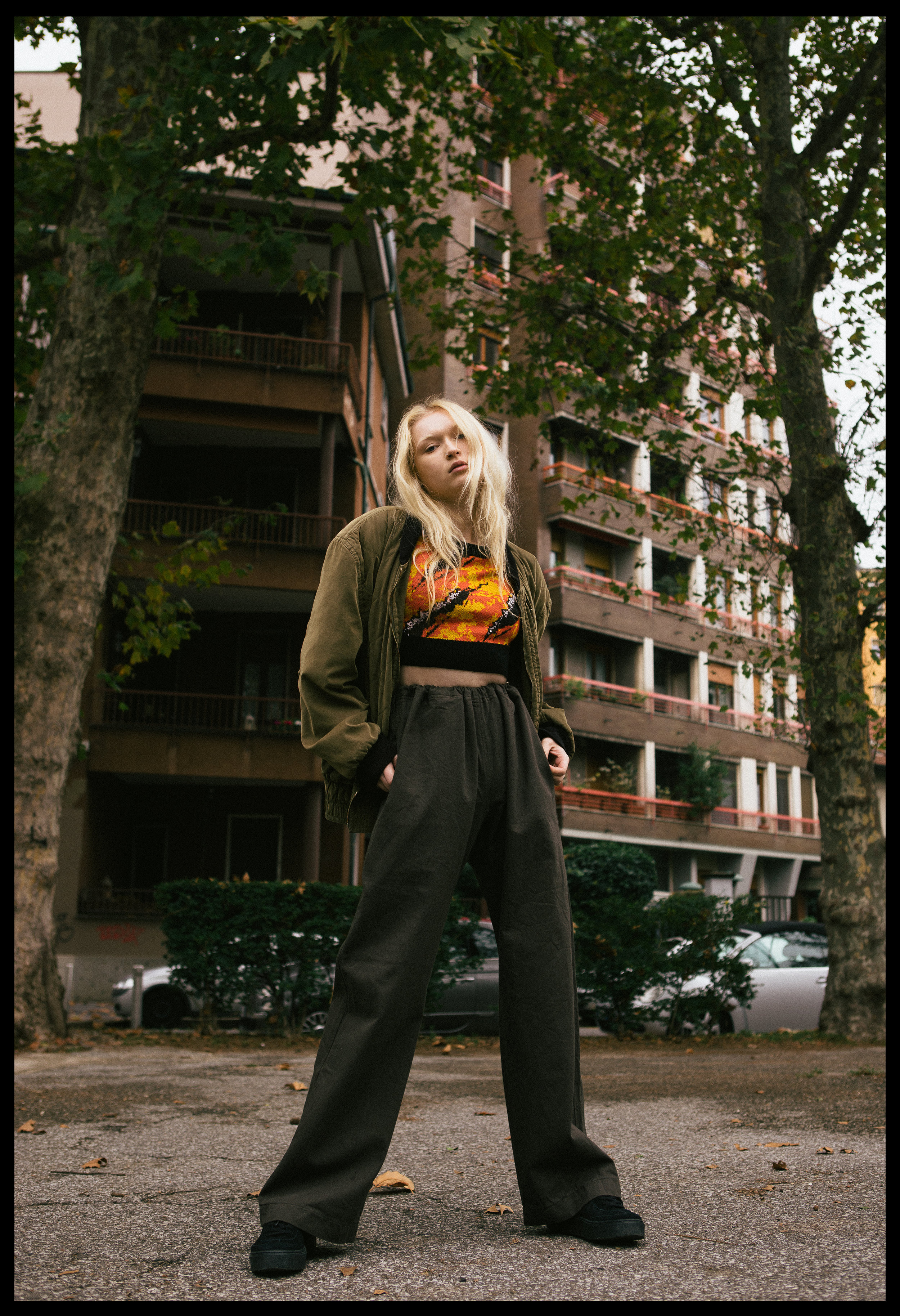 jacket VINTAGE, top  ASSK , trousers  MARNI , sneakers STYLIST'S OWN