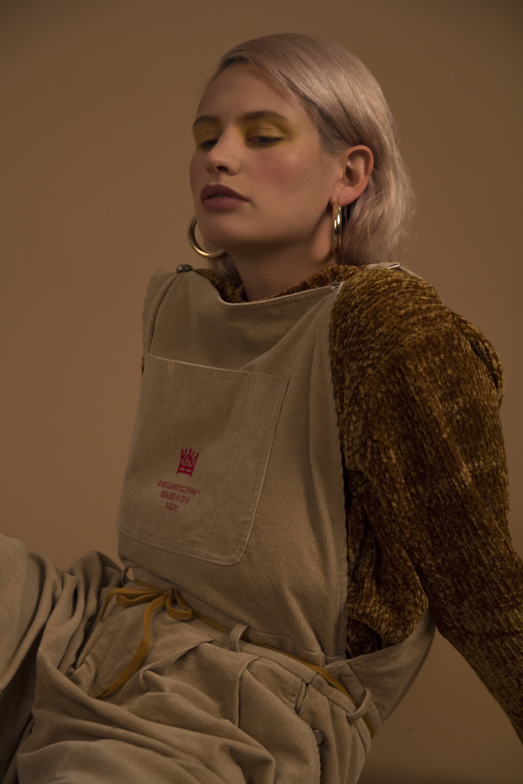 top  ZARA , overalls  SECLUDED CLOTHING