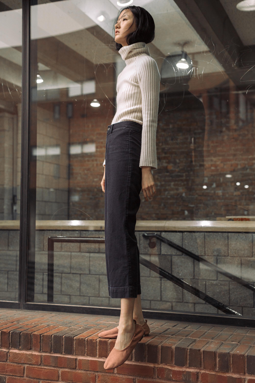 sweater VINTAGE,trousers  STEVEN ALAN , shoes  H&M