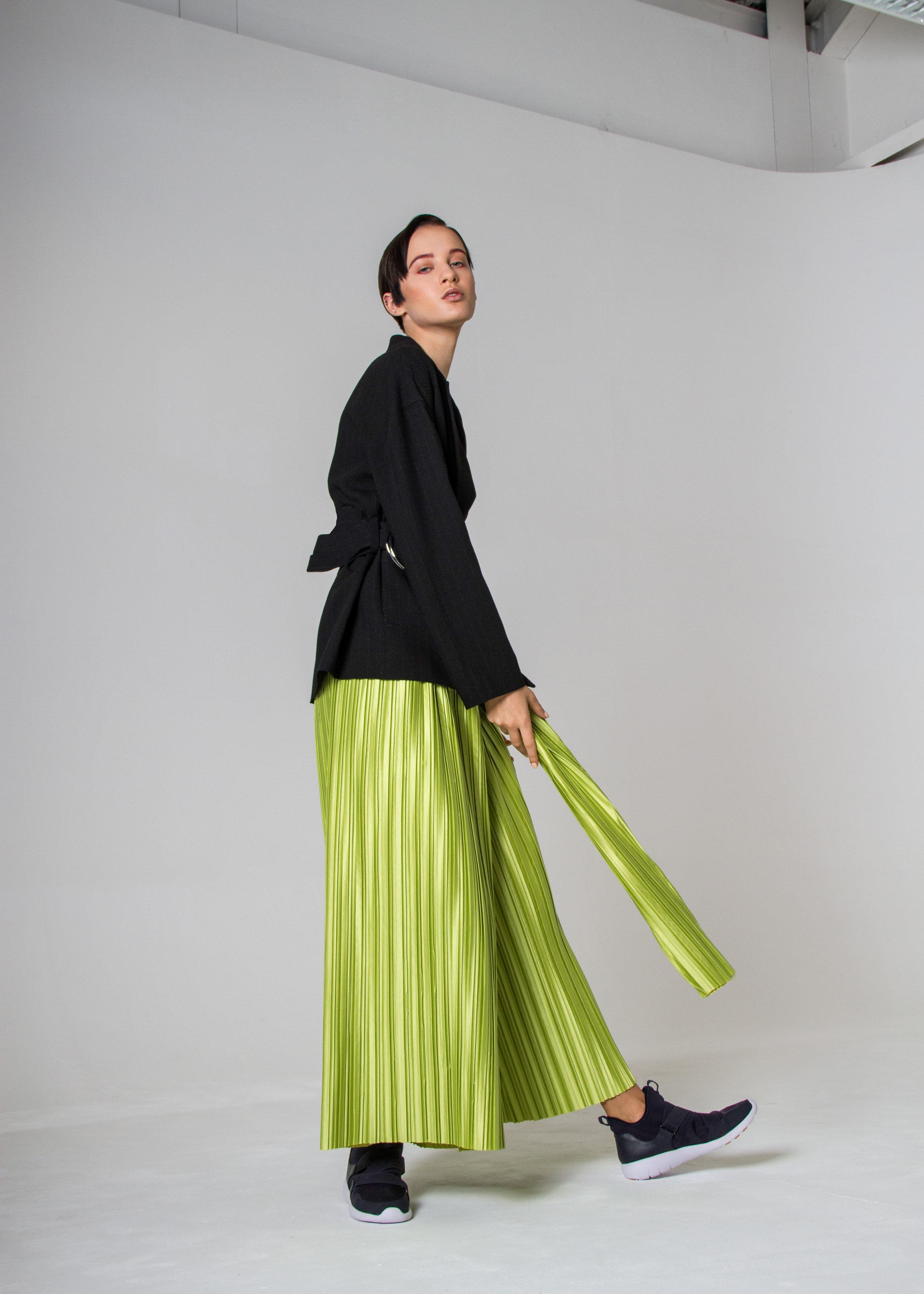 trousers  MAGDALENA CZARNIECKA , blazer ZARA, shoes H&M