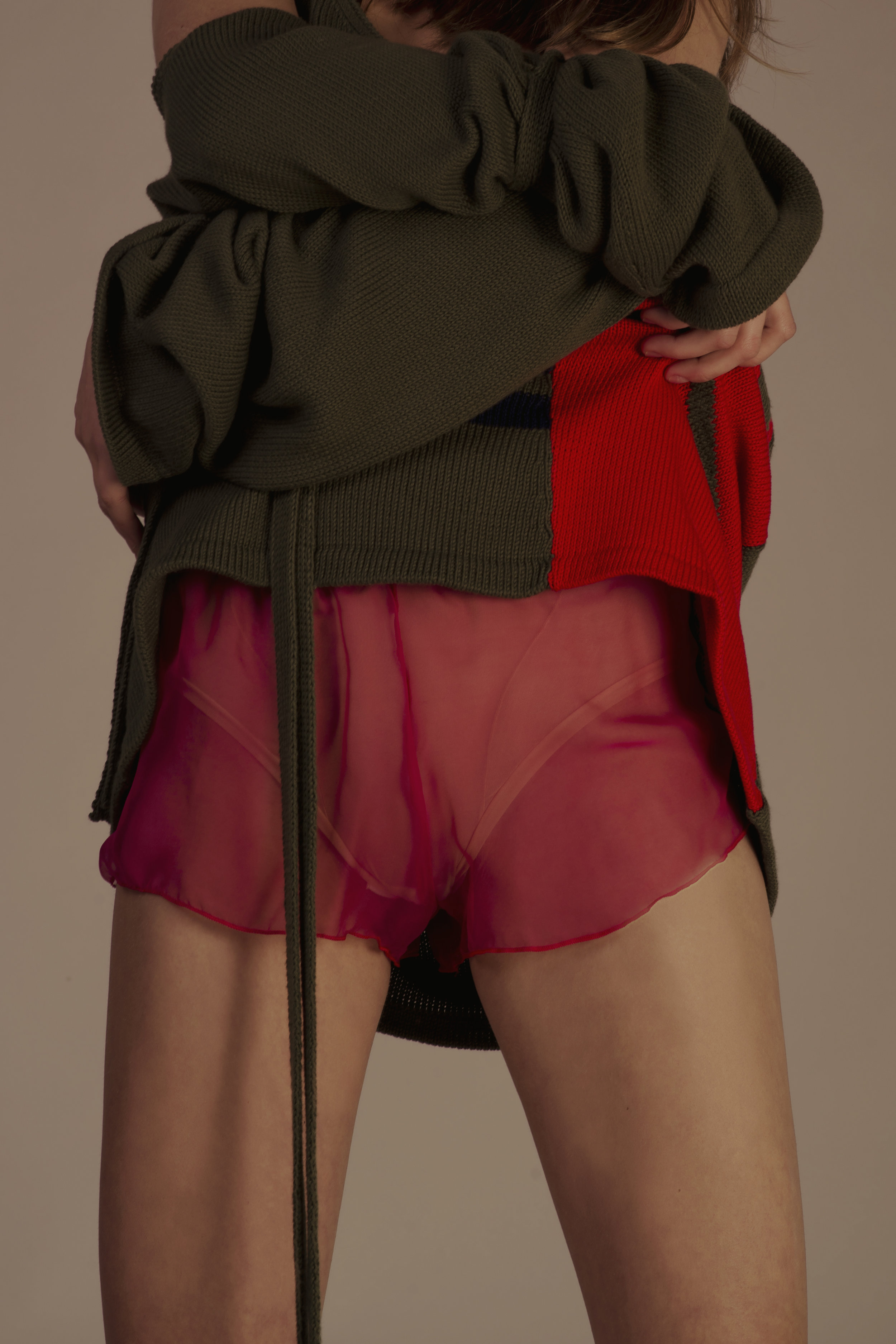 dress GIUSEPPE D'ANDREA, panties INDIVIDUALS