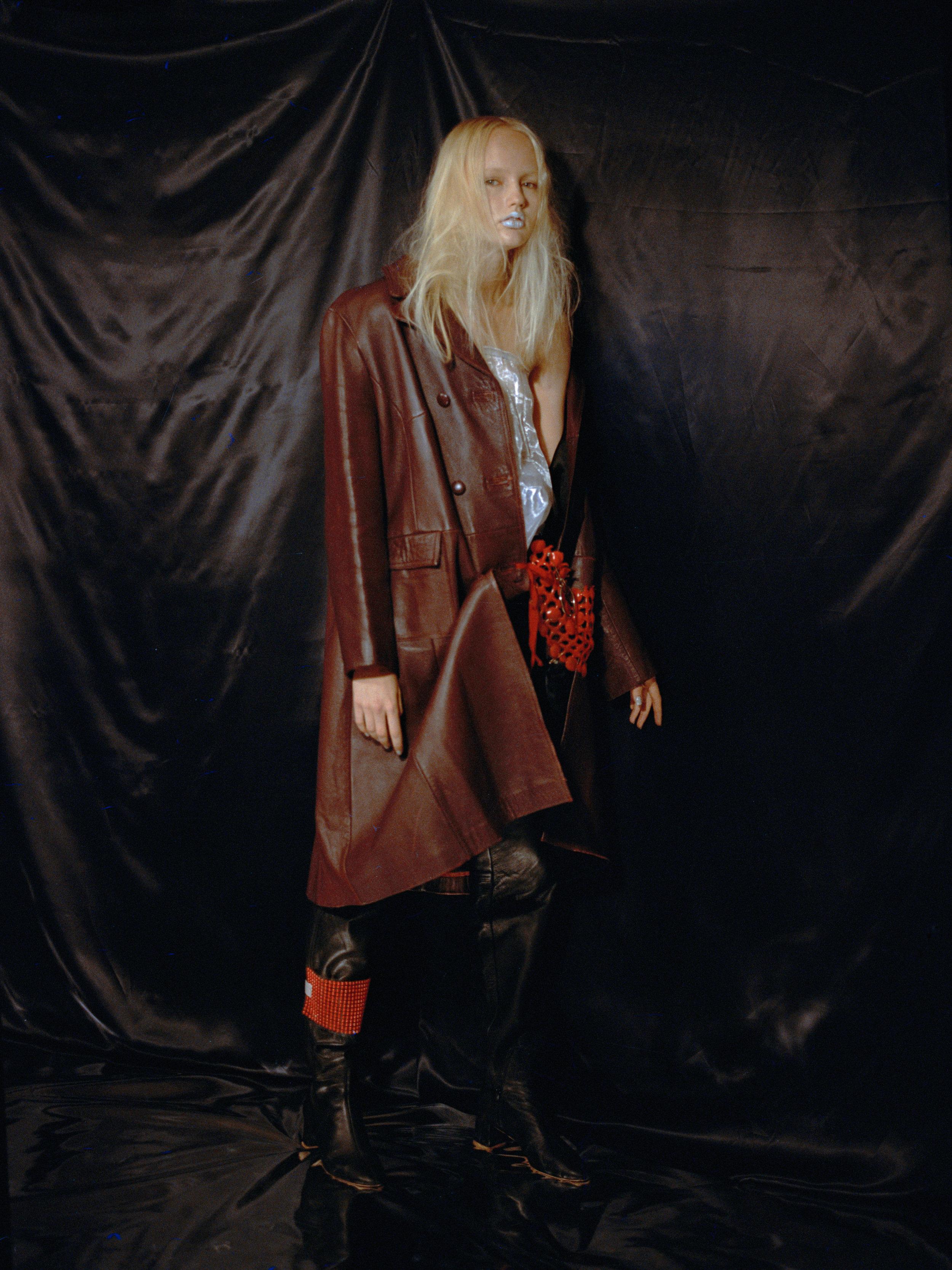 coat VINTAGE ARCHIVE rest of look  CHEYUAN LEE