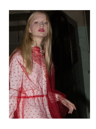 shirt  ZARA , dress  SORRY I'M NOT ,