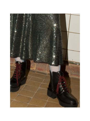 skirt  SORRY I'M NOT , shoes  ZARA ,socks  CALZEDONIA