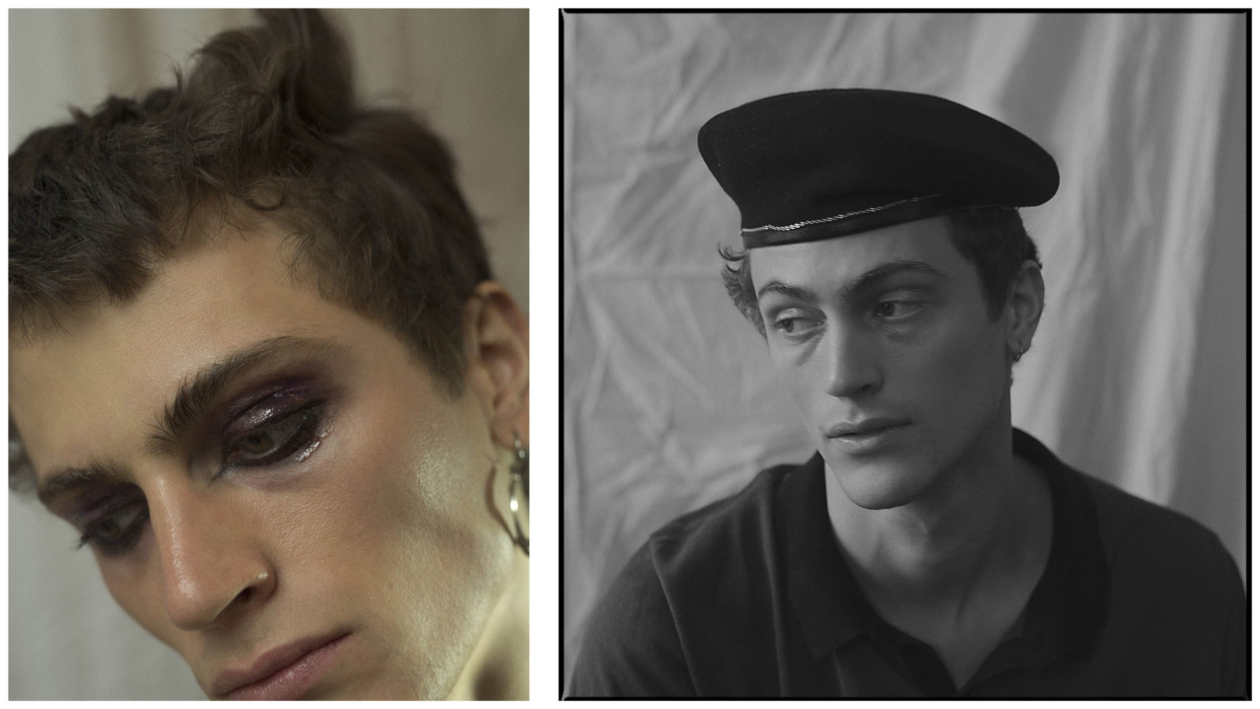 model  SAMUEL WORTHEN , jewellery SECOND HAND, polo  HAN KJOBENHAVN ,hat  DON PARIS