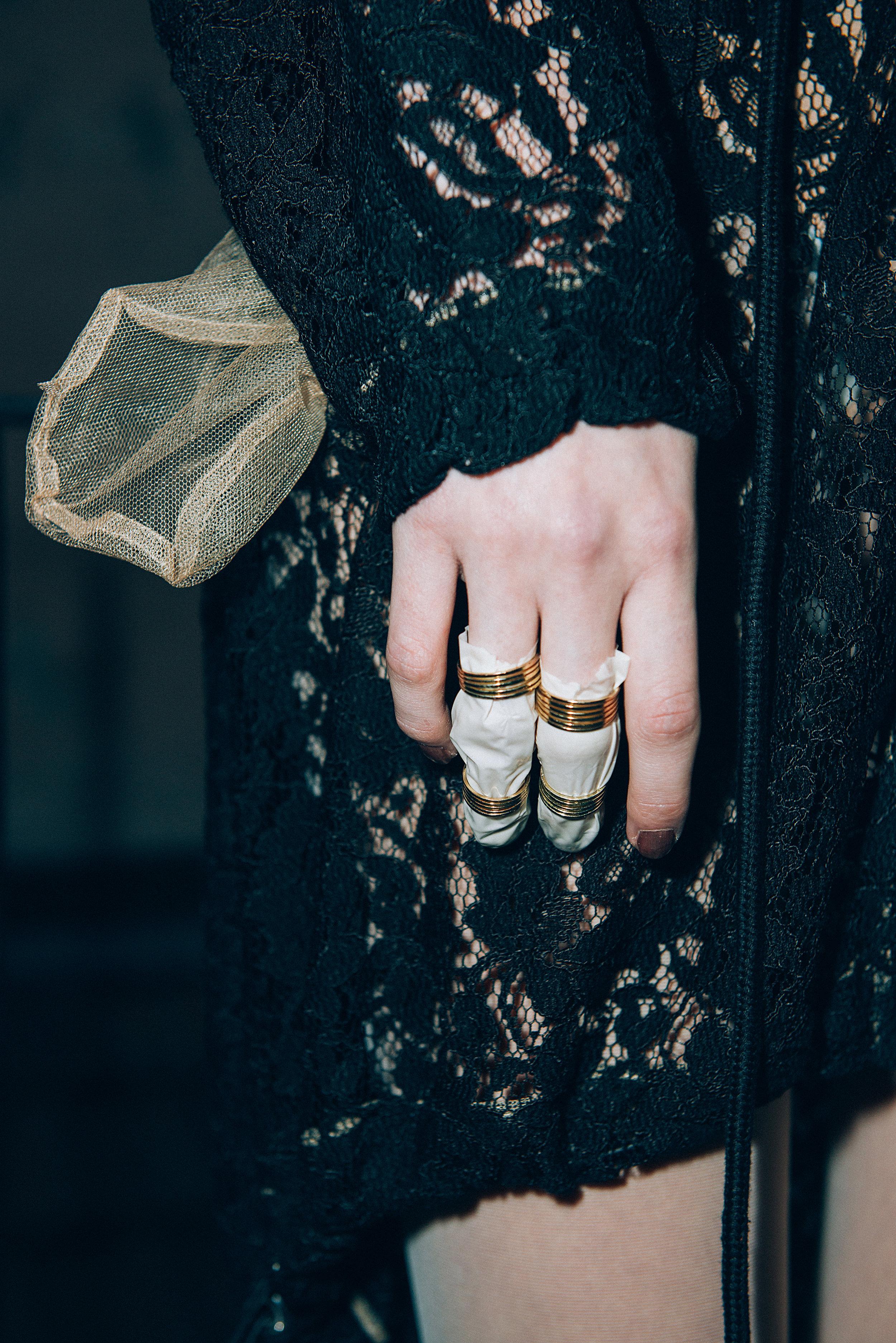 sweater  MOSCHINO , accessories STYLIST MADE