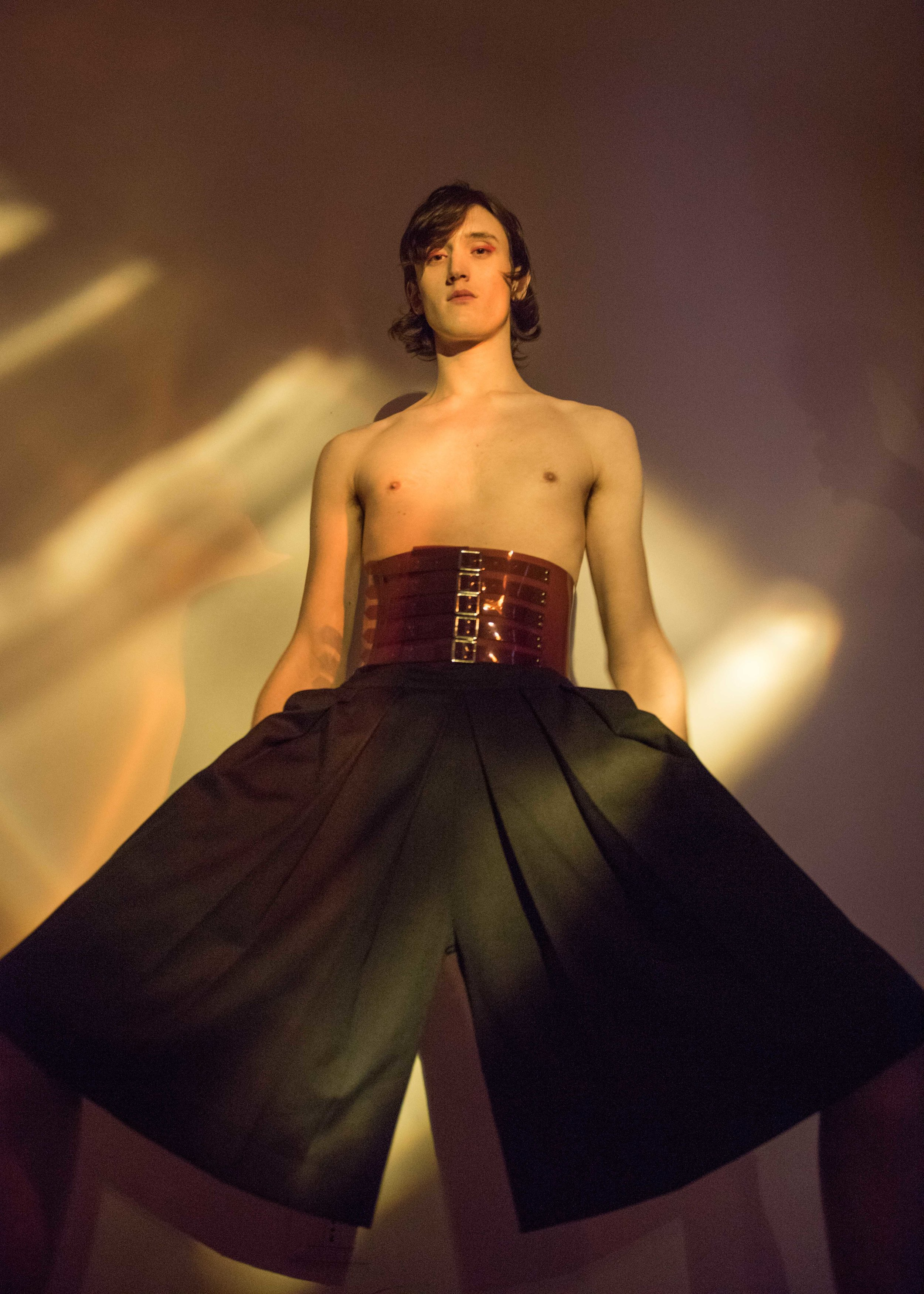 belt MARIOS, trousers PATRICK MATHIEU