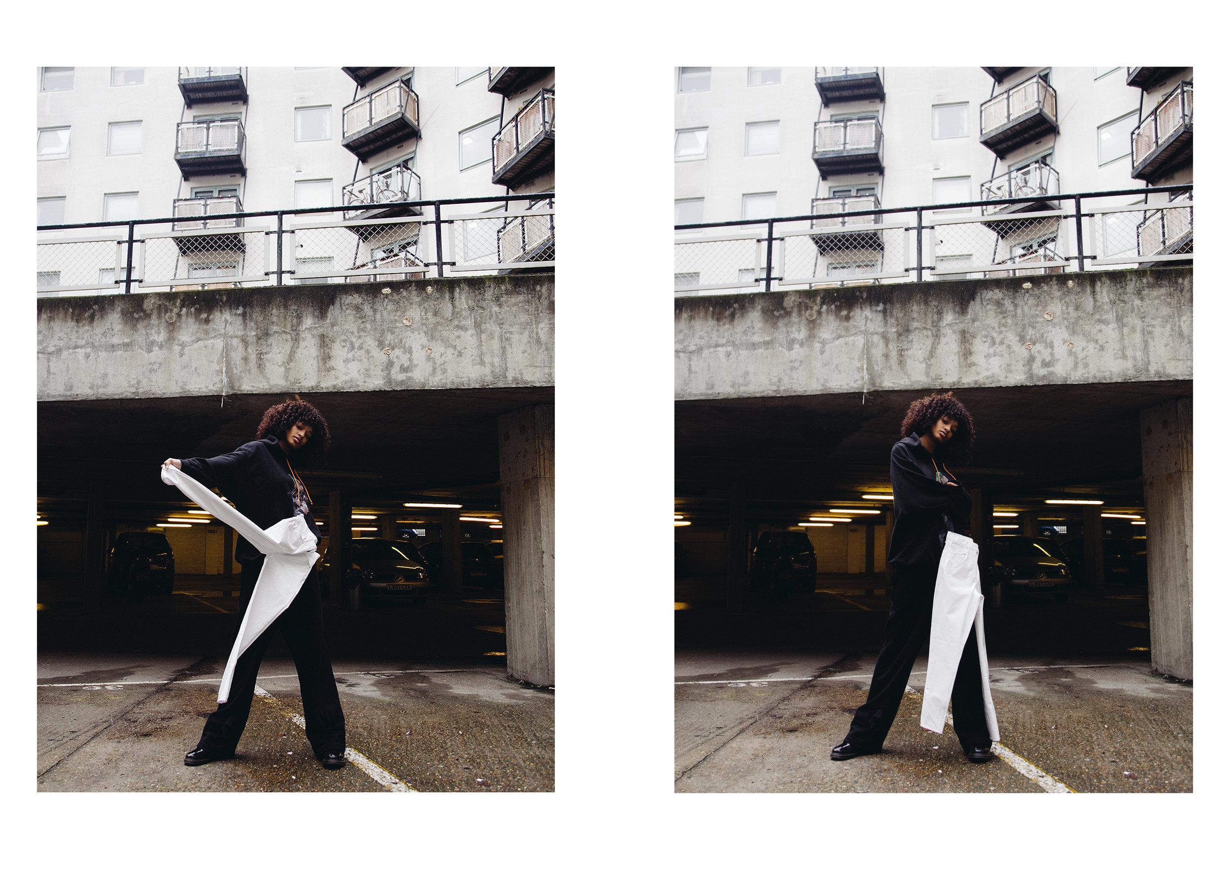 model wears  KILL BABE ,  GOSHA RUBCHINSKIY , TOPSHOP