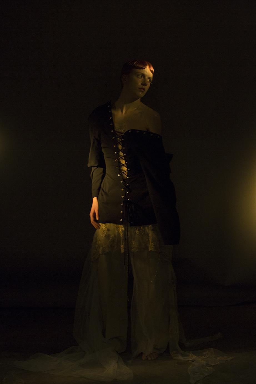 dress MARDOU & DEAN, pants HOPE, jacket ALEKSANDER SAHR