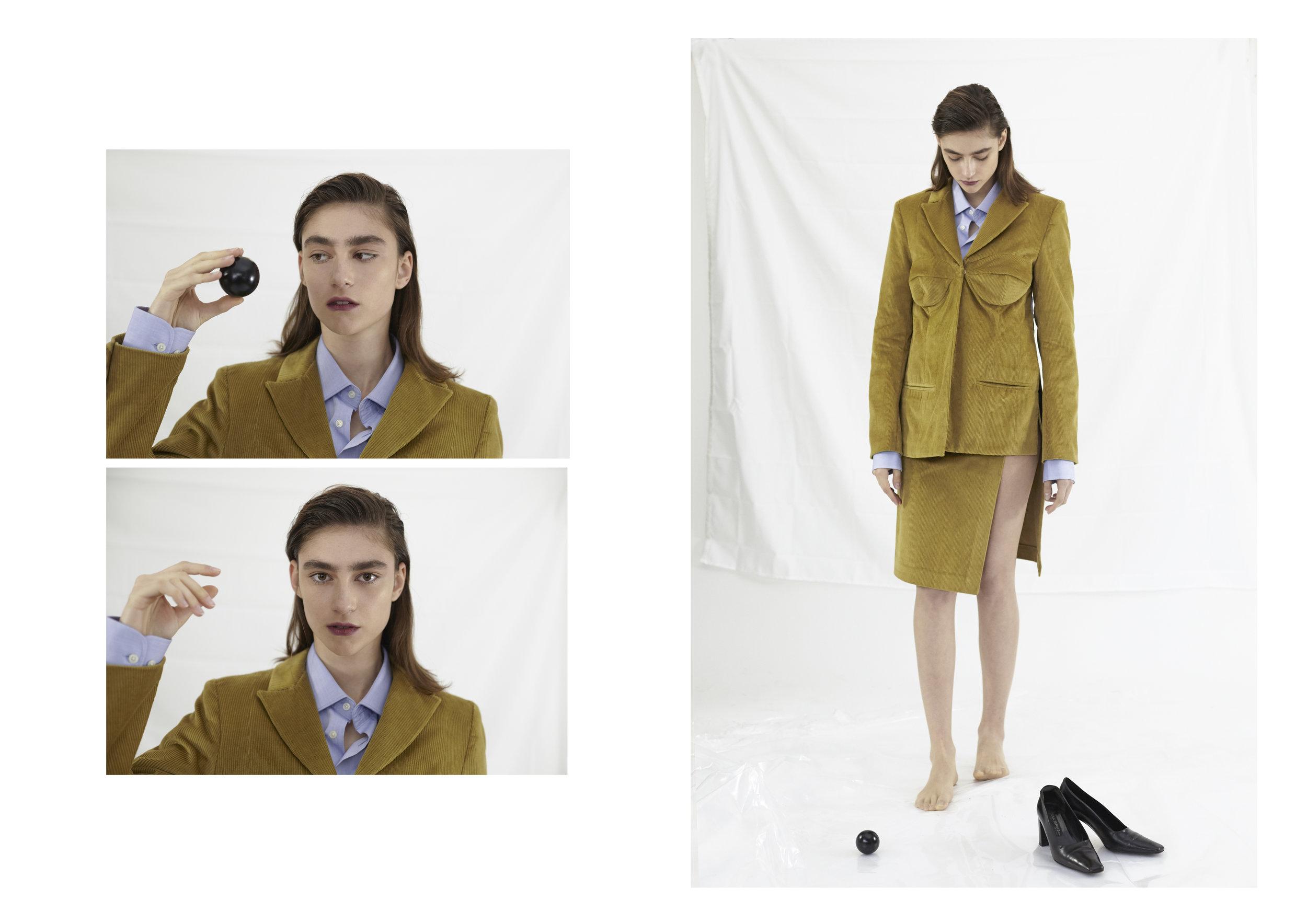 Federico Cina Tailleur, Stylist's Own Shirt, Vintage Shoes