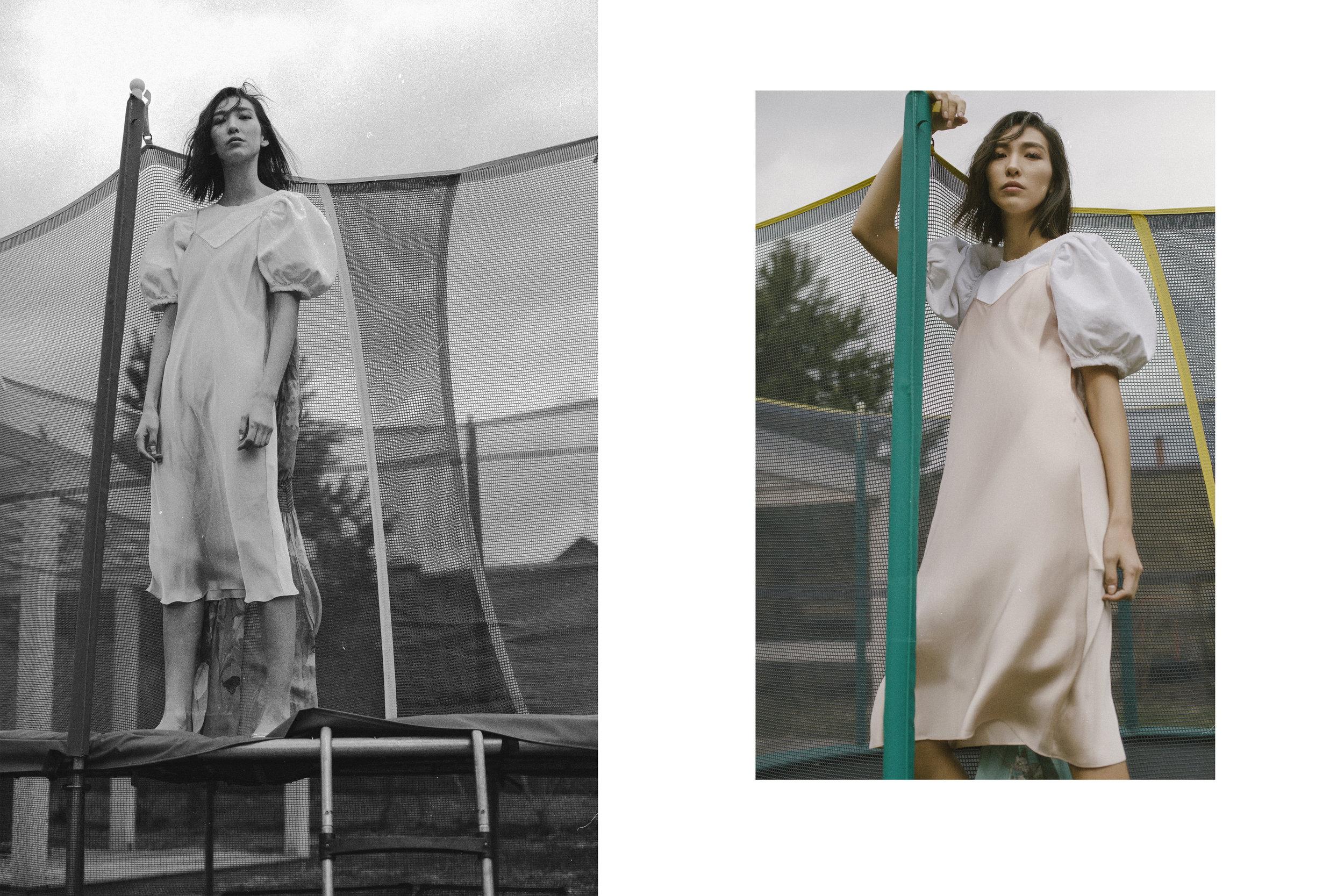 top Zara, Sandals Céline, Dress Ivan