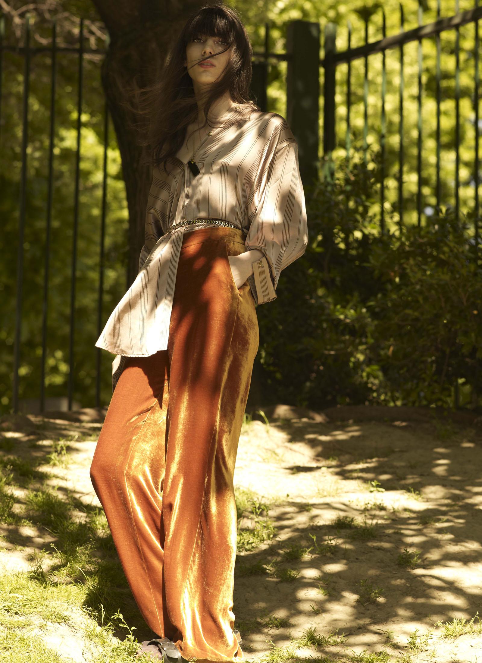 Shirt, Vintage, Pants, Karine Lecchi, Necklace, Marion Vidal, Belt, Stylist's own, Shoes, Birkenstock