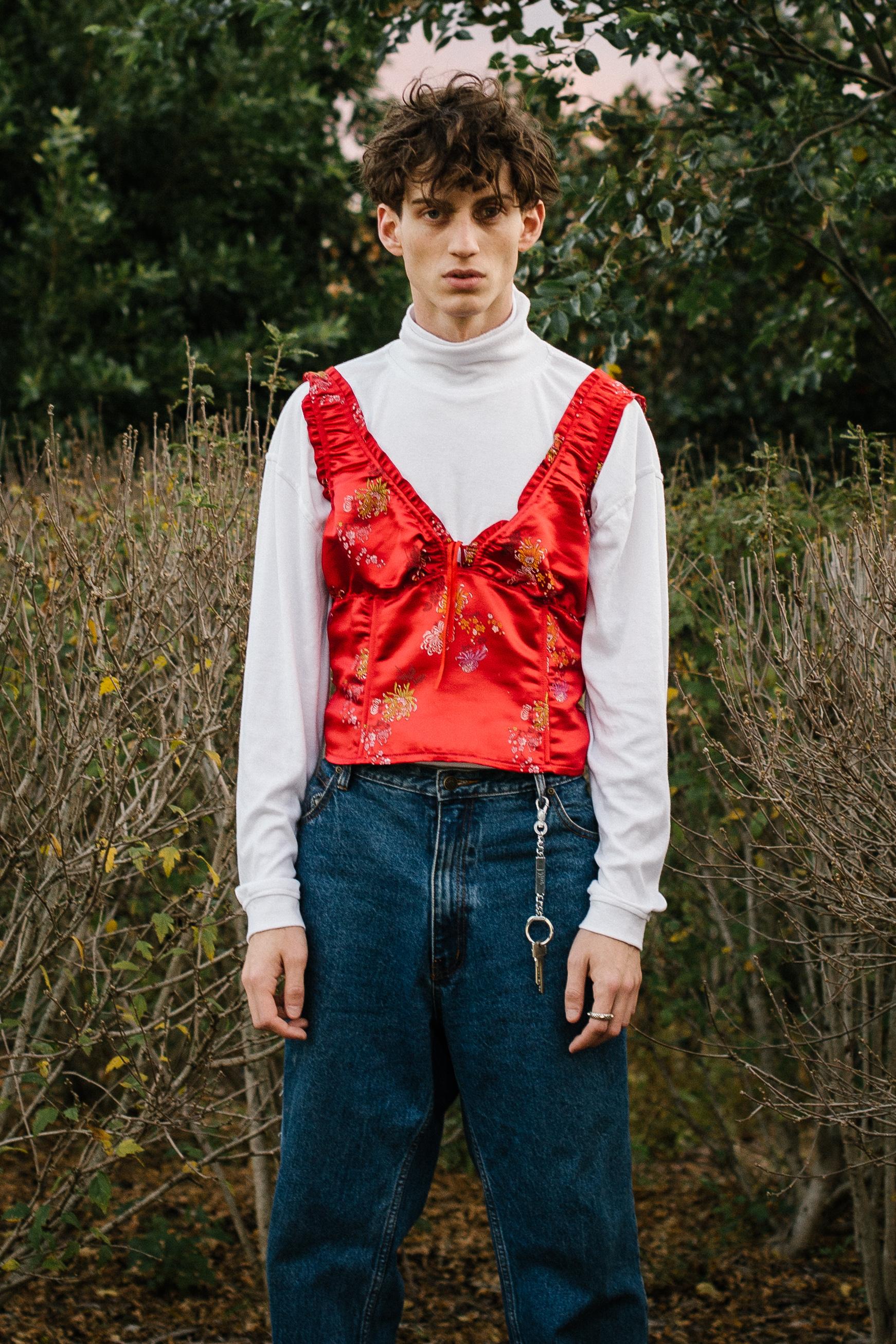turtle neck Lanvin, top Stylists own, jeans Levis, key chain Dior, shoes Gucci