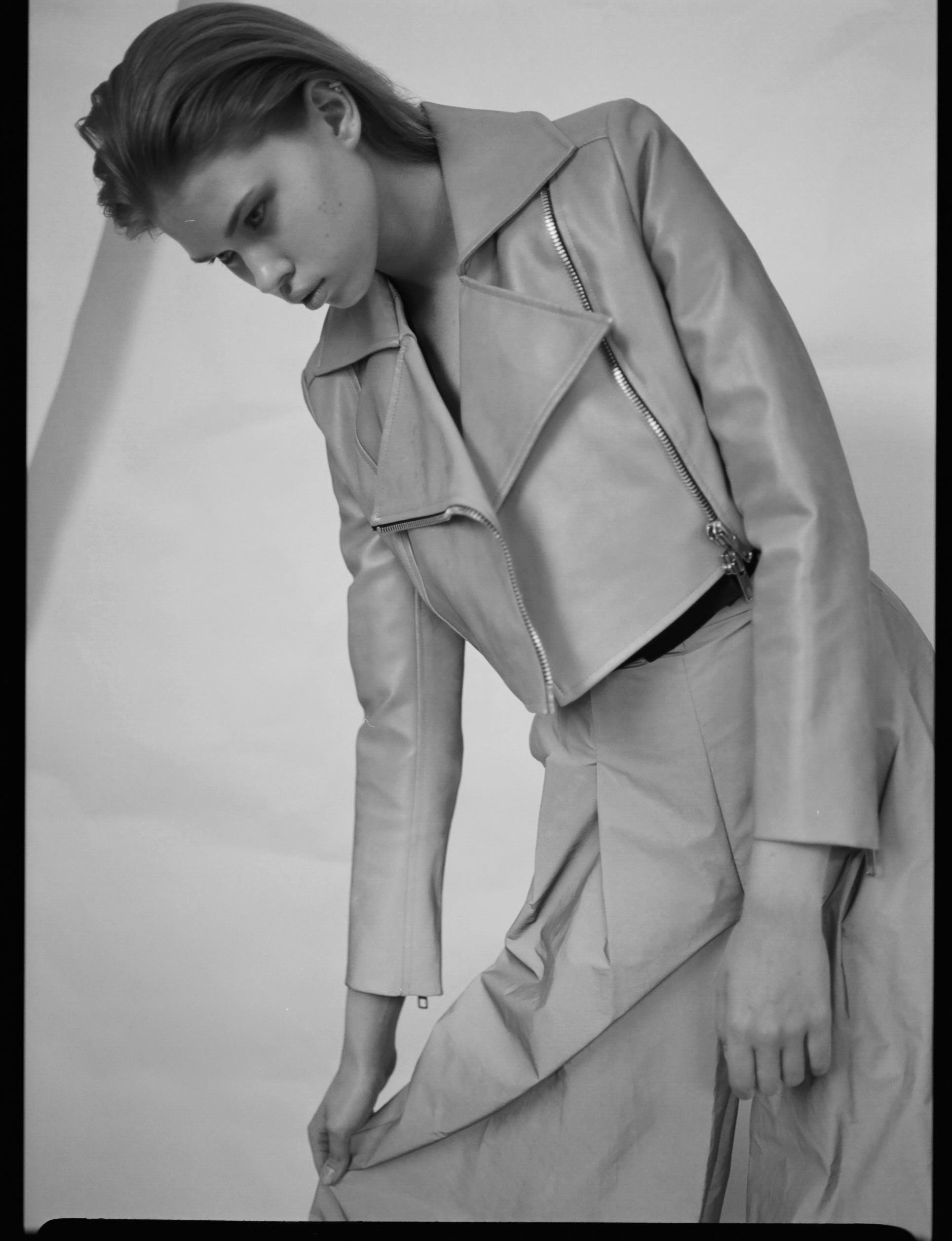 Trousers: WANGLILING Jacket: WANGLILING