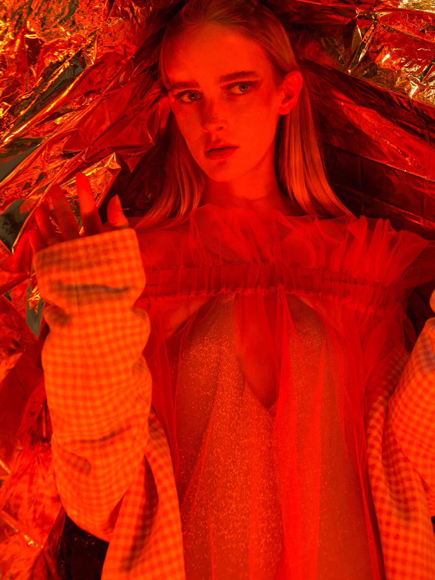 Dress Celia Valverde Body Versace Coat Love Moschino