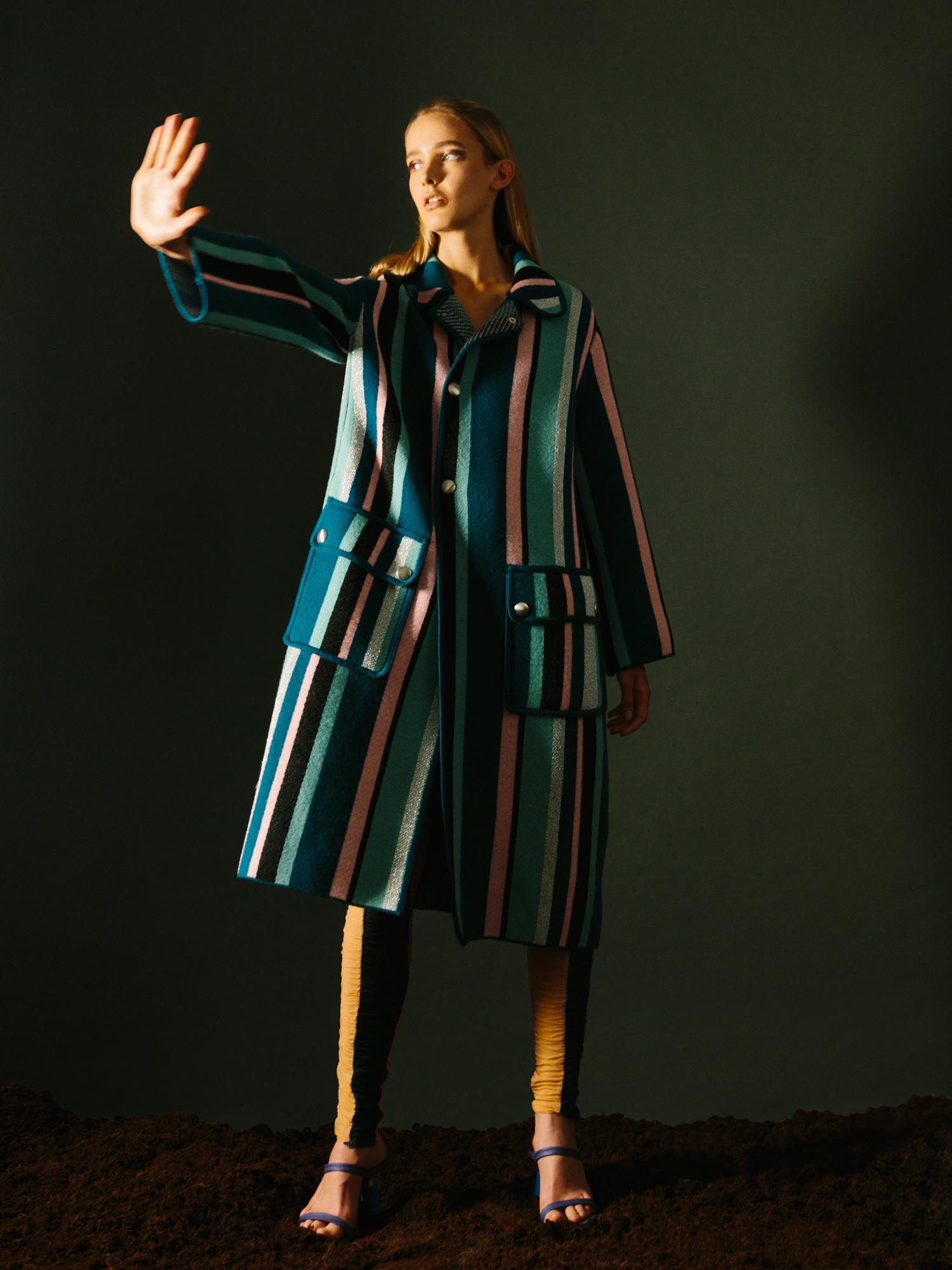 coat M MISSONI, tights Mané Mané, shoes RESIDENCE