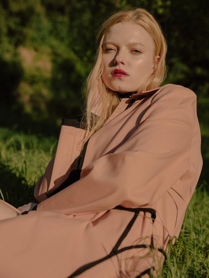 Jacket by Azabala Studio,Lingerie by Andres Sarda