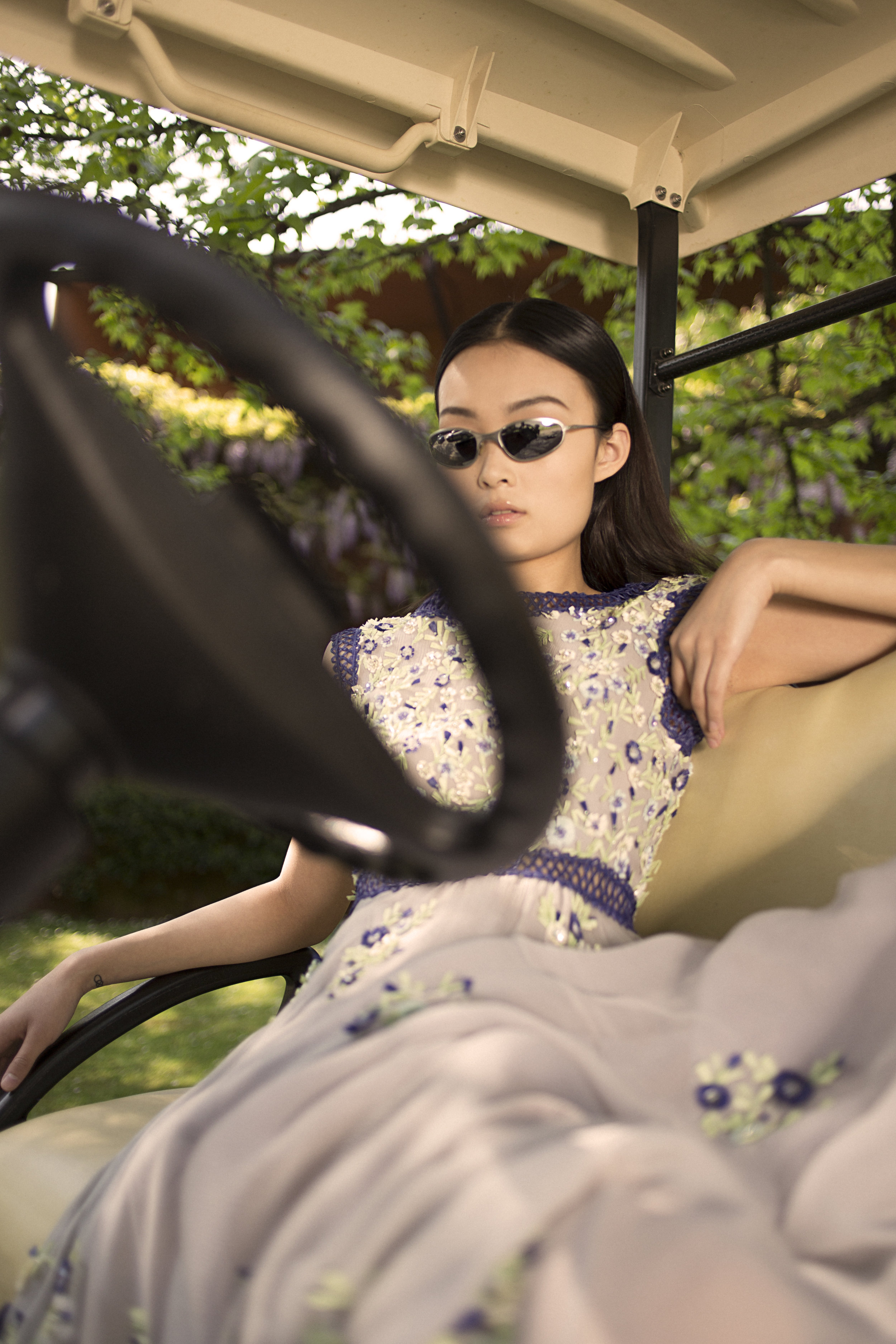 dress LUISA BECCARIA, sunglasses VINTAGE
