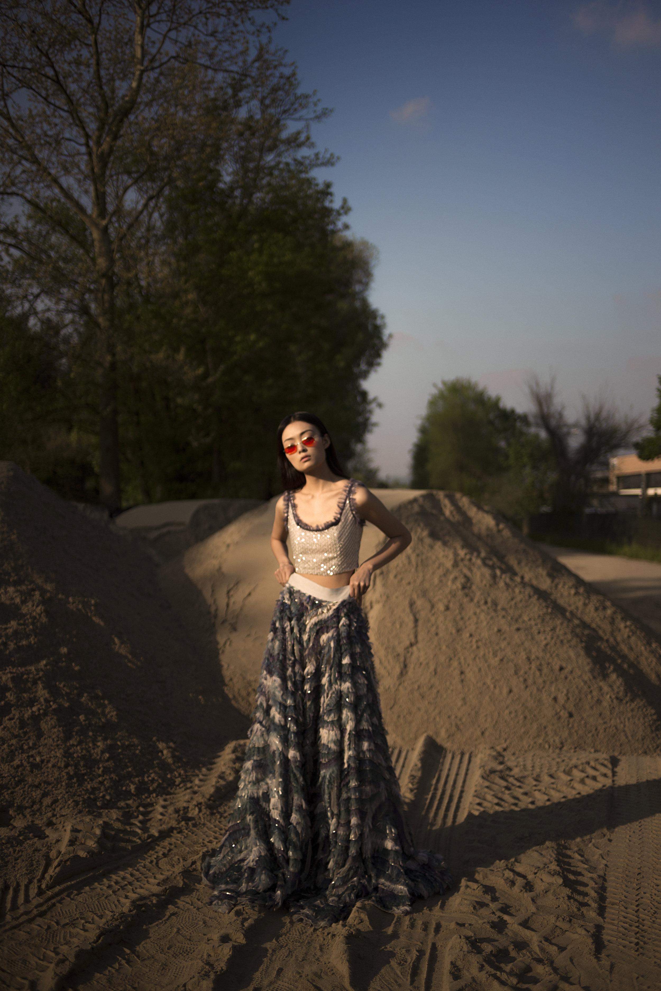 bra INTIMISSIMI, dress LUISA BECCARIA