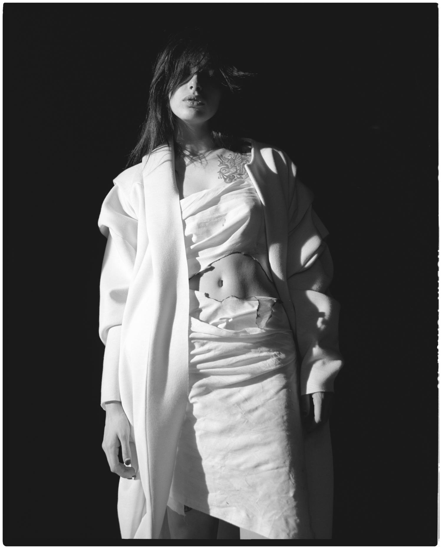 Coat Katerina Soloviova, dress made by stylist