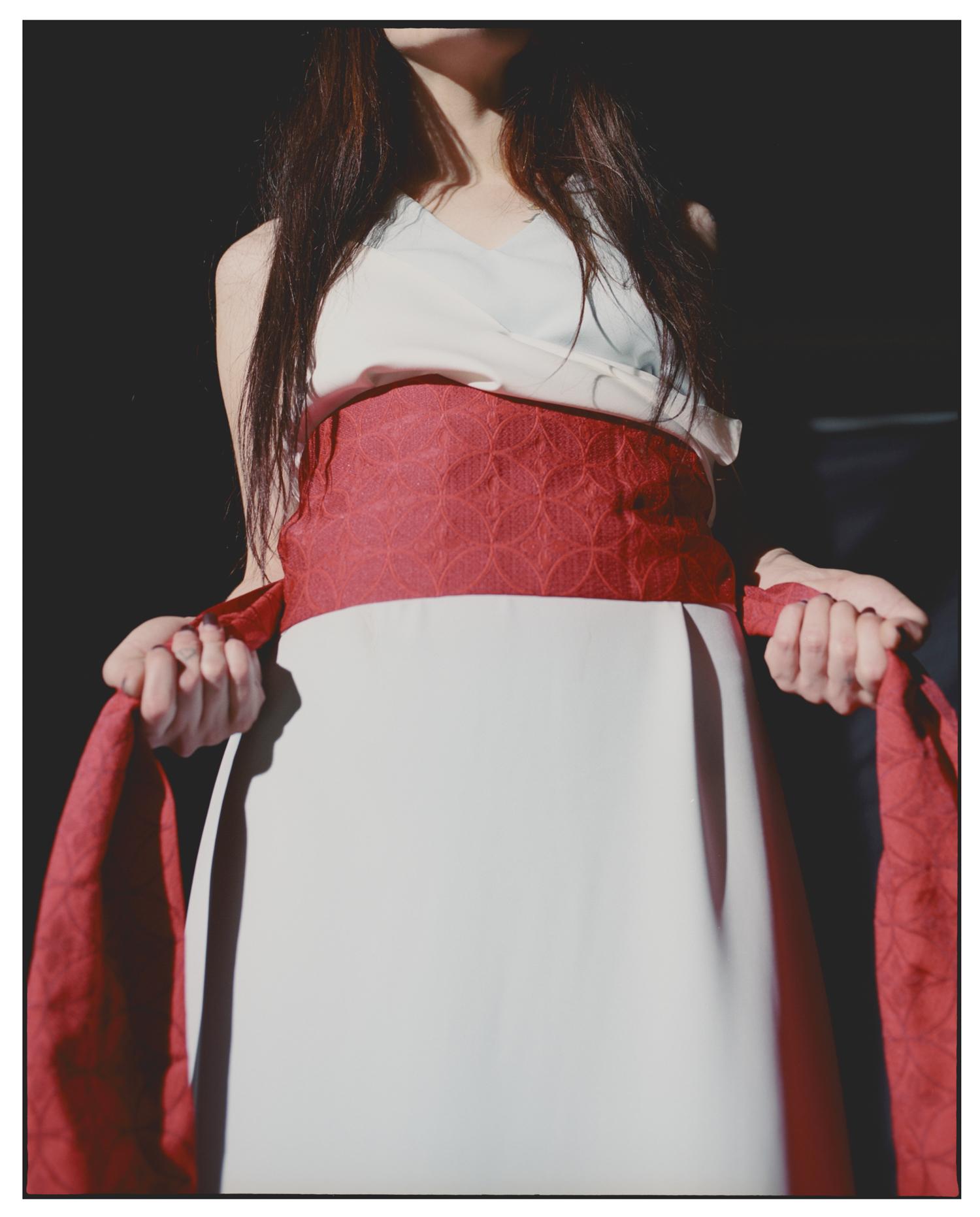 dress nnedre and kimono belt
