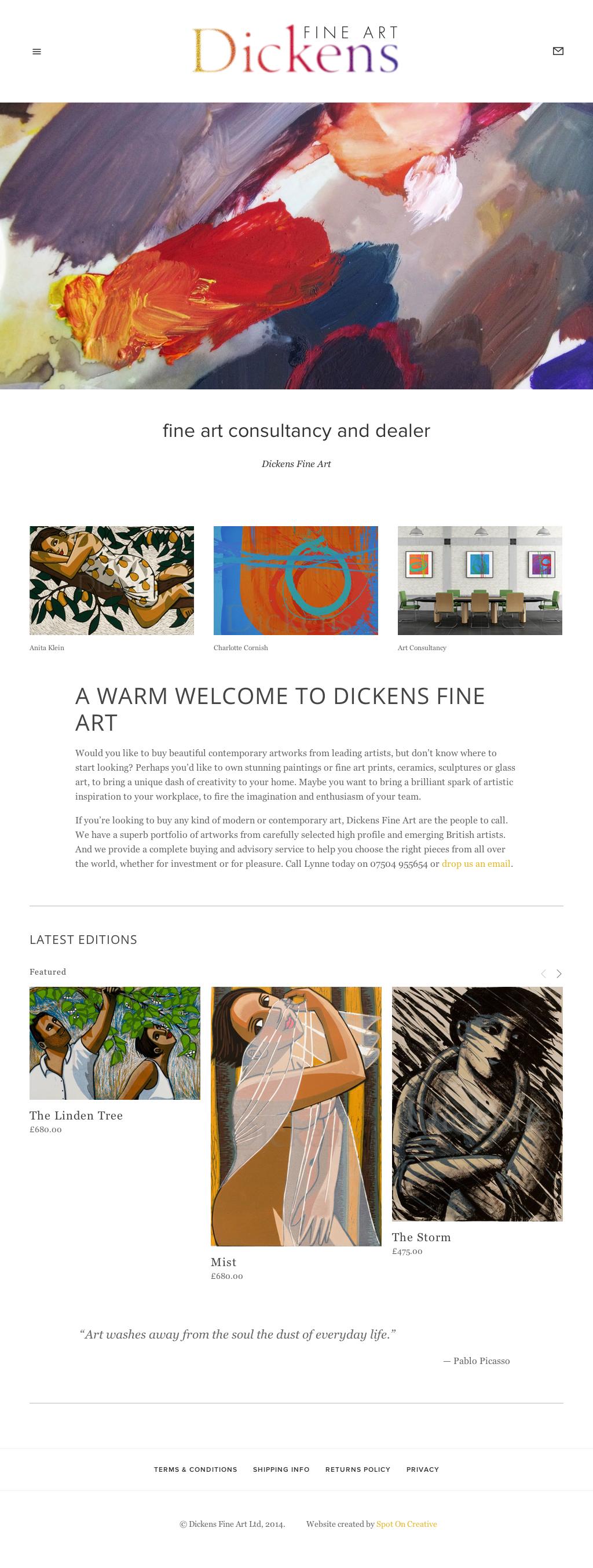 dickensfineart_website_by_spotoncreative