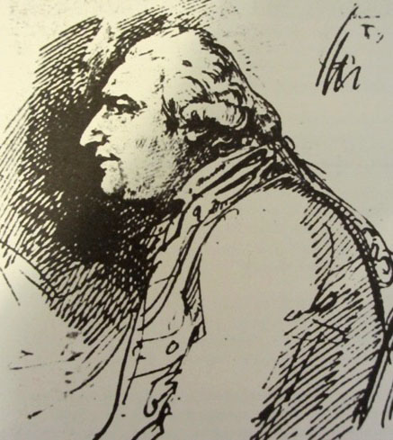 Sketch of Bodoni by Biagio Martini