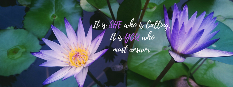 Lotus it is she who is calling