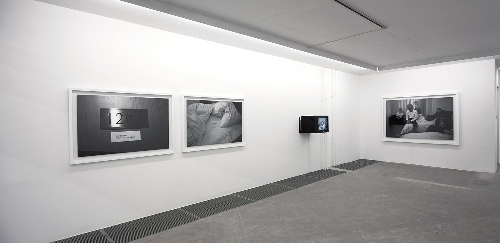 They Are Not Here , 2010. Installation view, Galerie Urs Meile, Beijing, China, 2011.